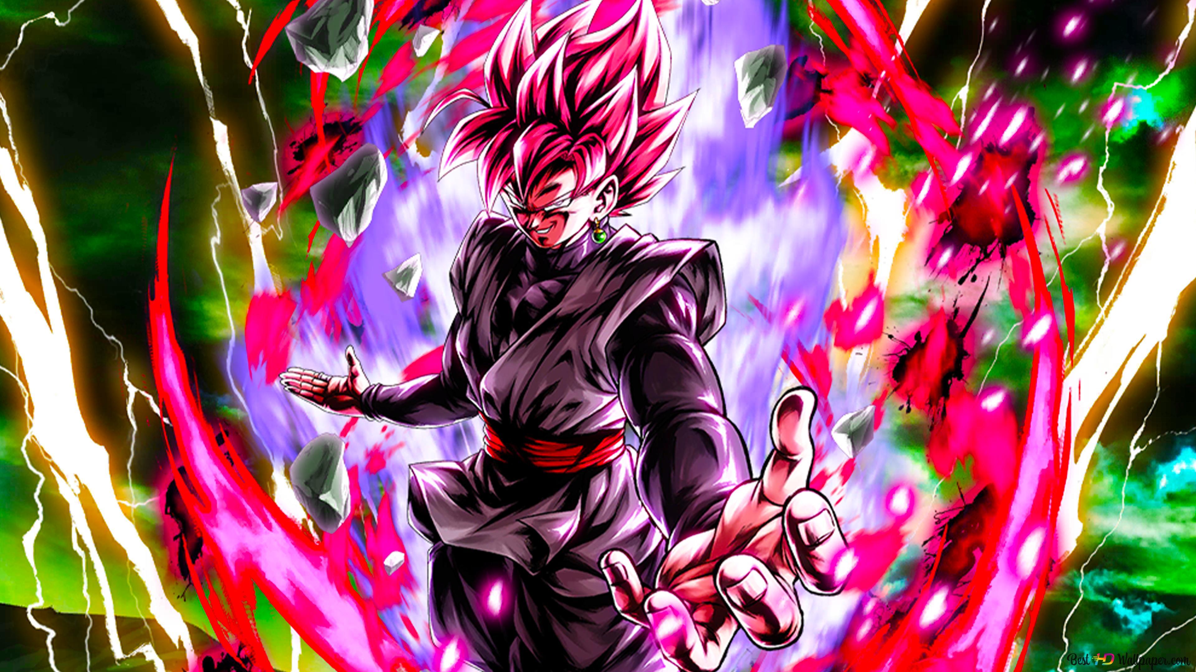 Super Saiyan Rose Goku Black From Dragon Ball Super Dragon Ball Legends Arts For Desktop Hd Wallpaper Download