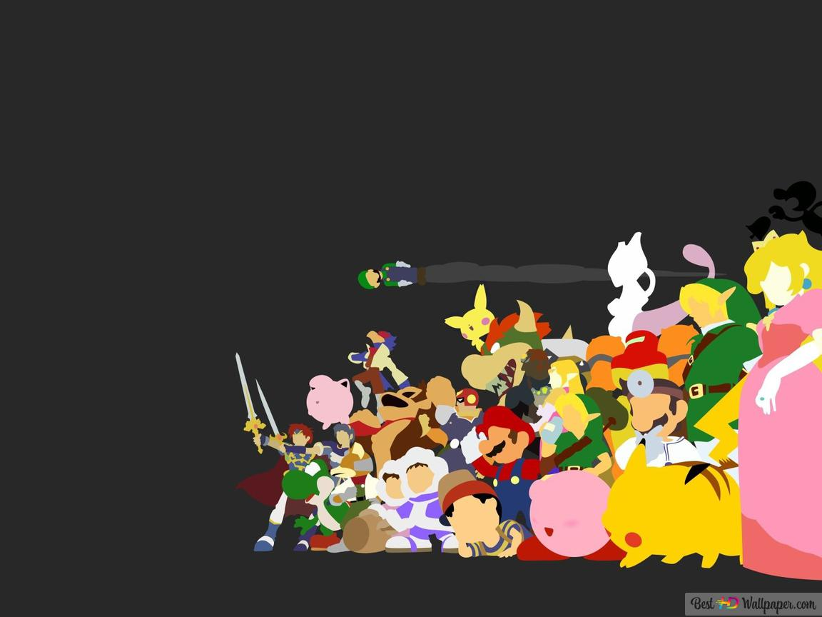 Super Smash Bros Melee Hd Wallpaper Download