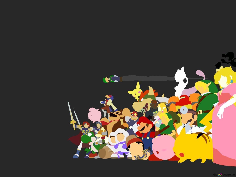 Super Smash Bros Melee Hd Wallpaper Download