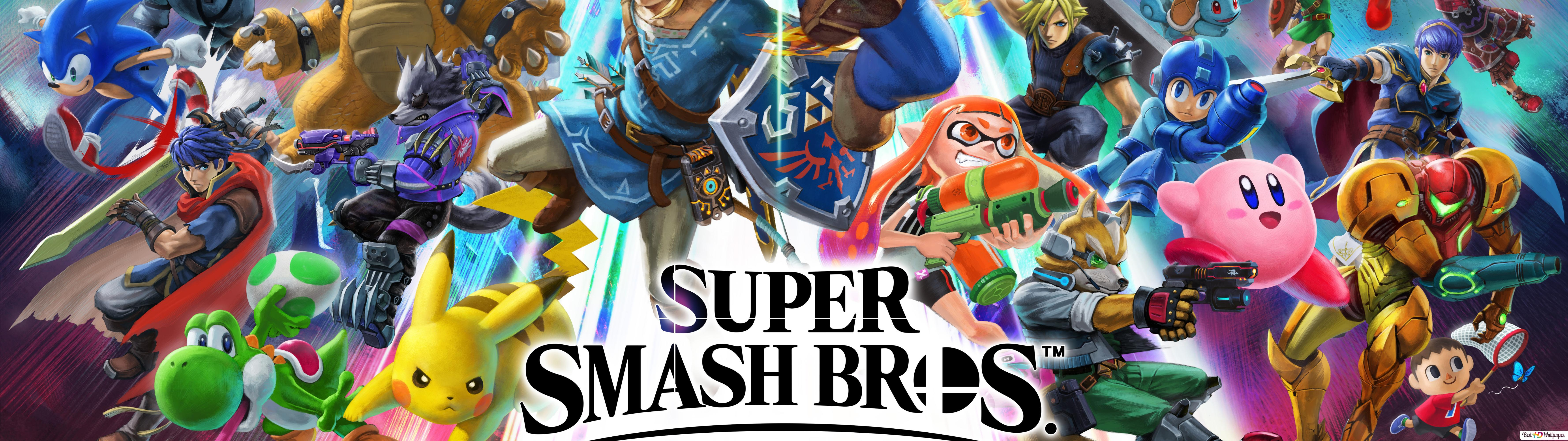 Super Smash Bros Ultimate Hd Wallpaper Download
