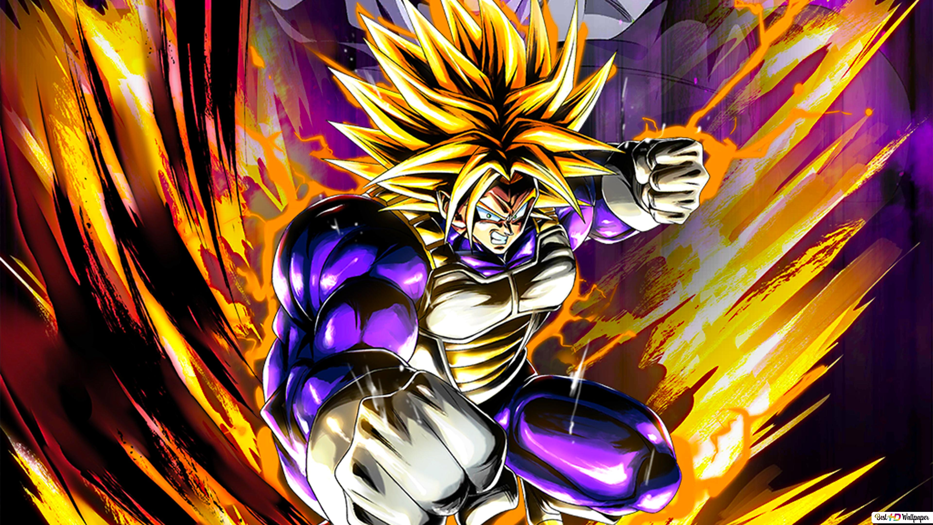 Super Trunks Dari Dragon Ball Z Dragon Ball Legends Arts Untuk Desktop Unduhan Wallpaper Hd
