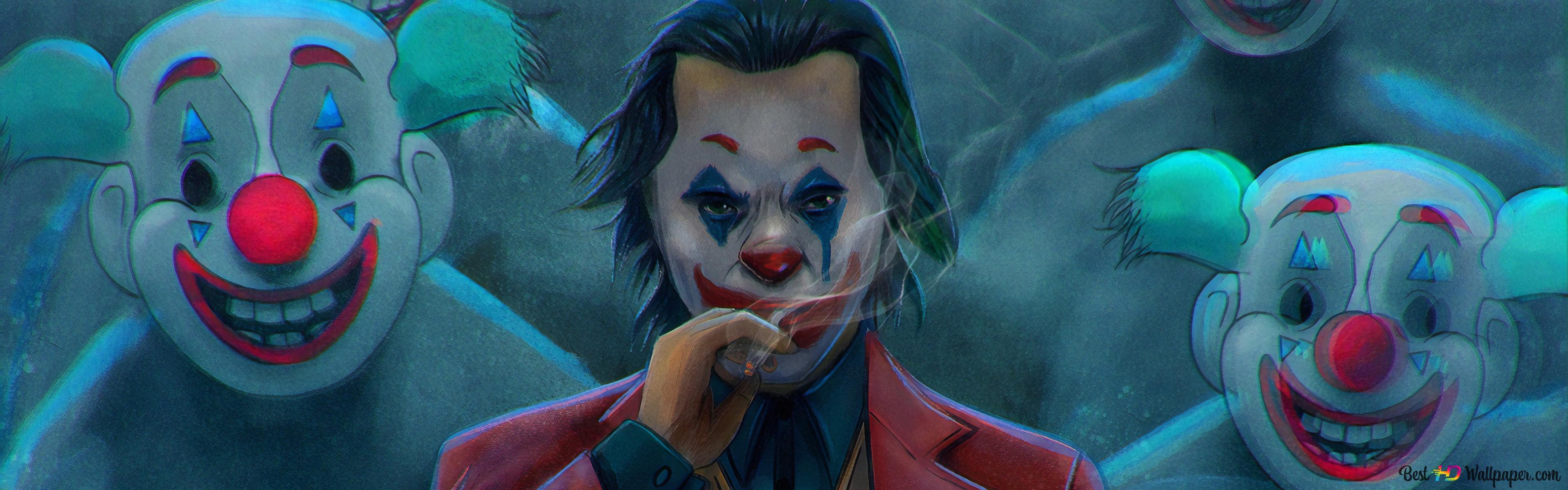 Hd Wallpaper Free Fire Joker Drawing