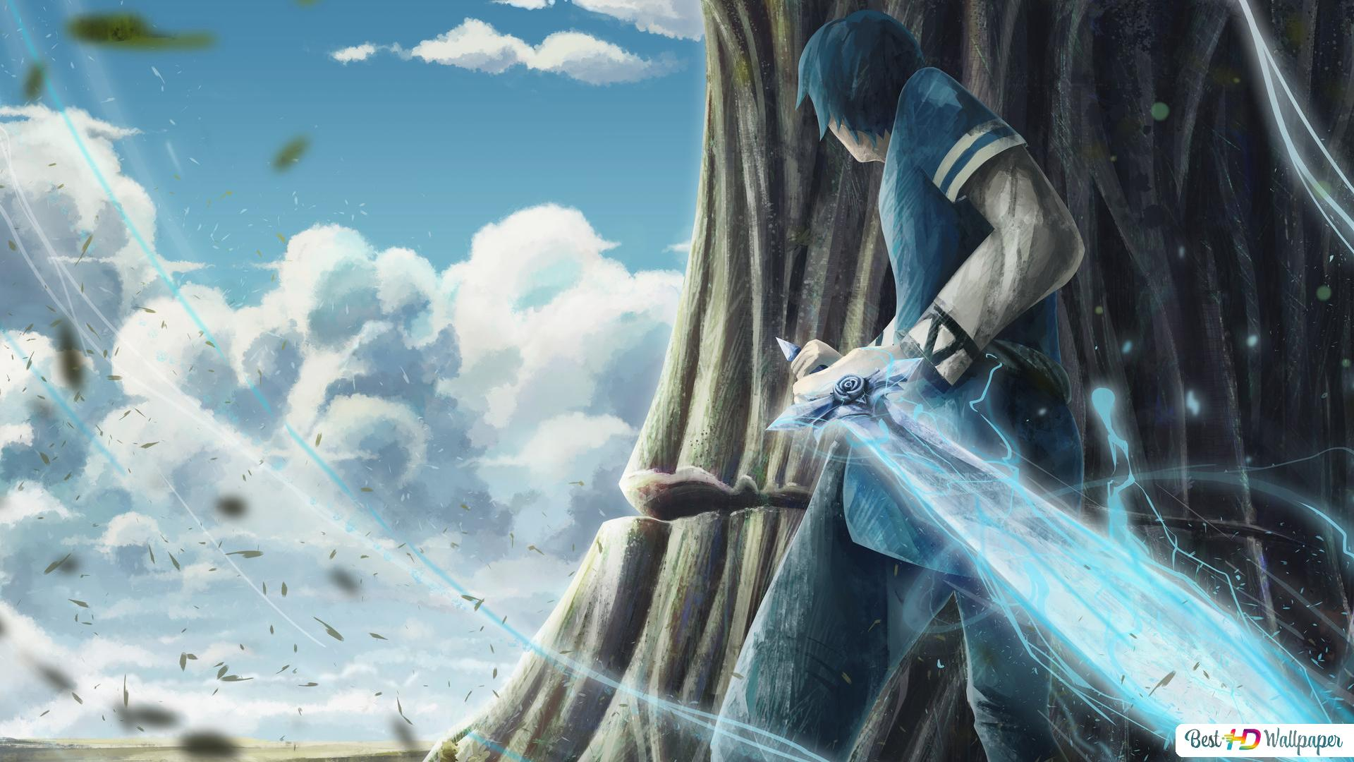 Sword Art Online Alicization Kirito Kazuto Kirigaya Blue Rose