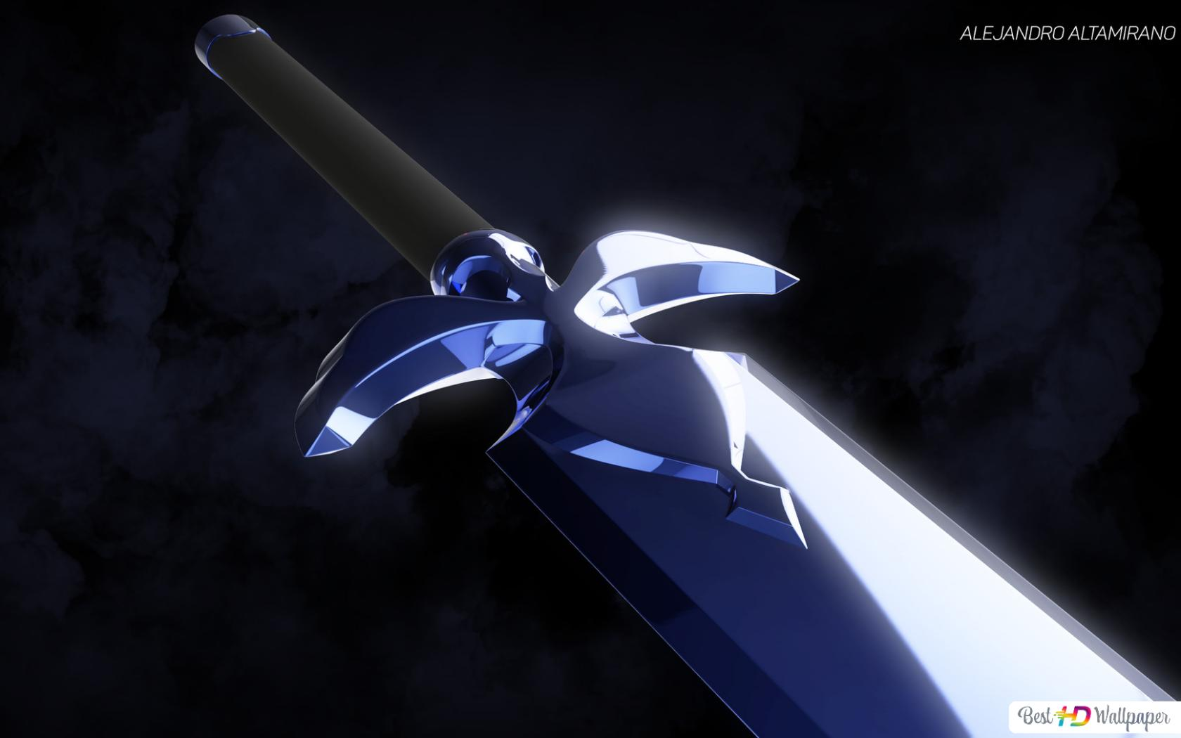 Sword Art Online Alicization - Night Sky Sword (Spada Kirito) Download di  sfondi HD