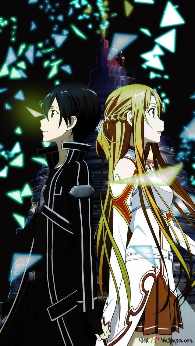 Sword Art Online Asunakiritogame End Hd Wallpaper Download