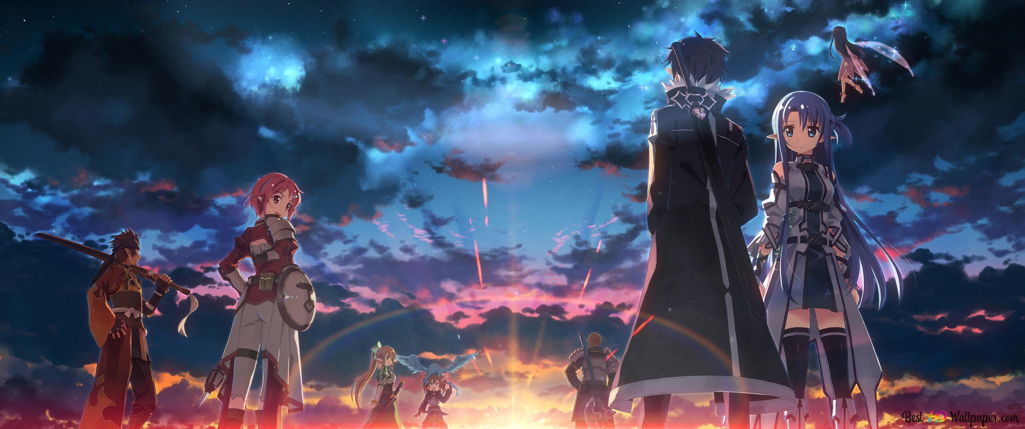 Sword Art Online Fatal Bullet Anime Video Game Hd Wallpaper