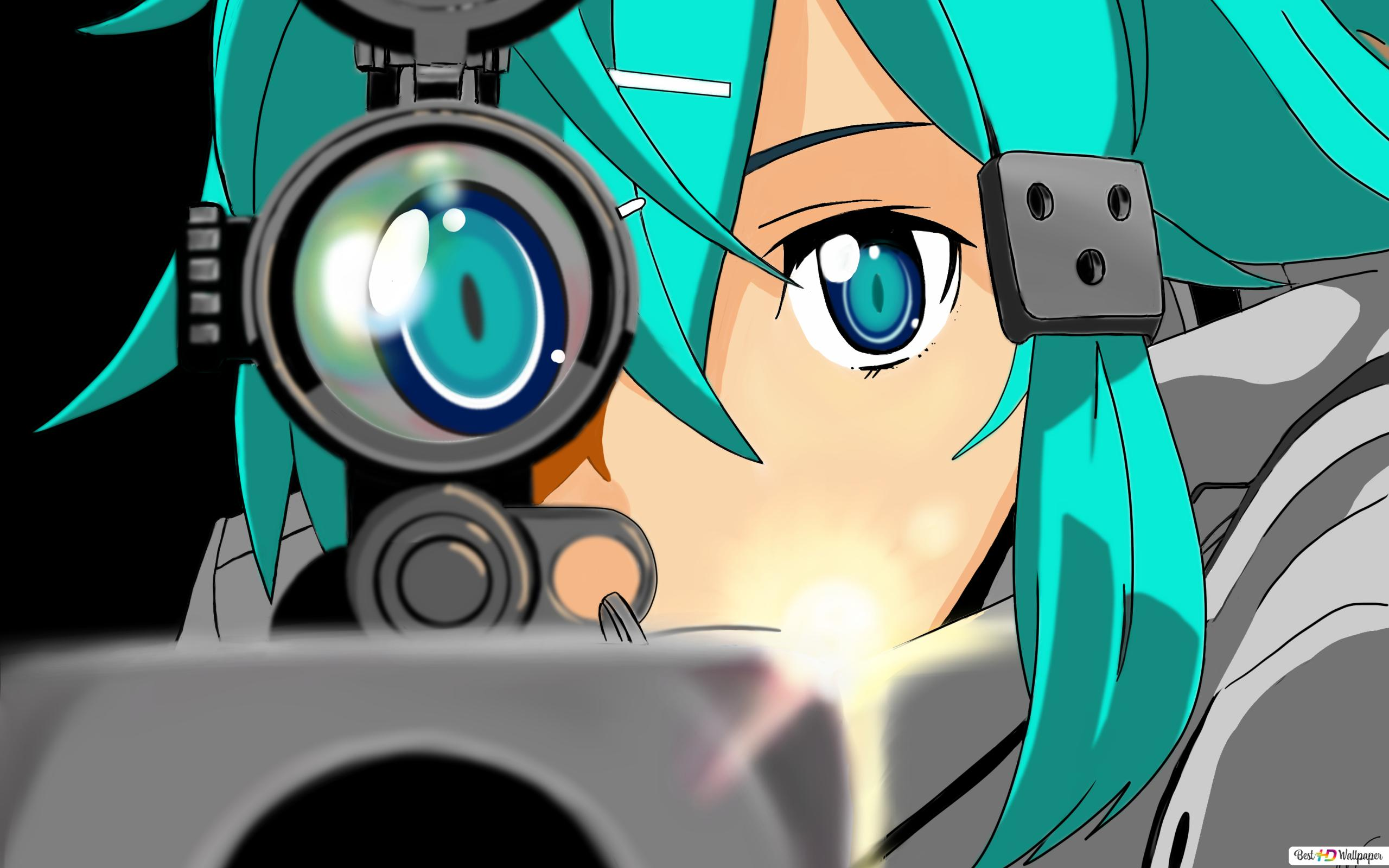 Descargar Fondo De Pantalla Sword Art Online Ii Asada Shino Hd