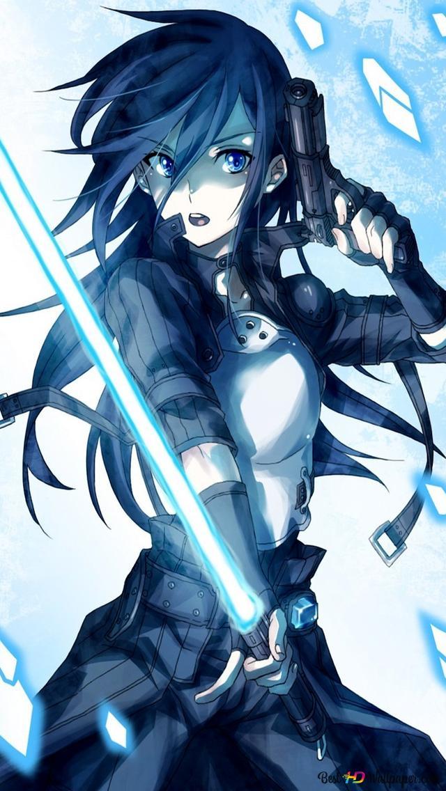 Sword Art Online Kirito Gun Gale Online Hd Wallpaper Download