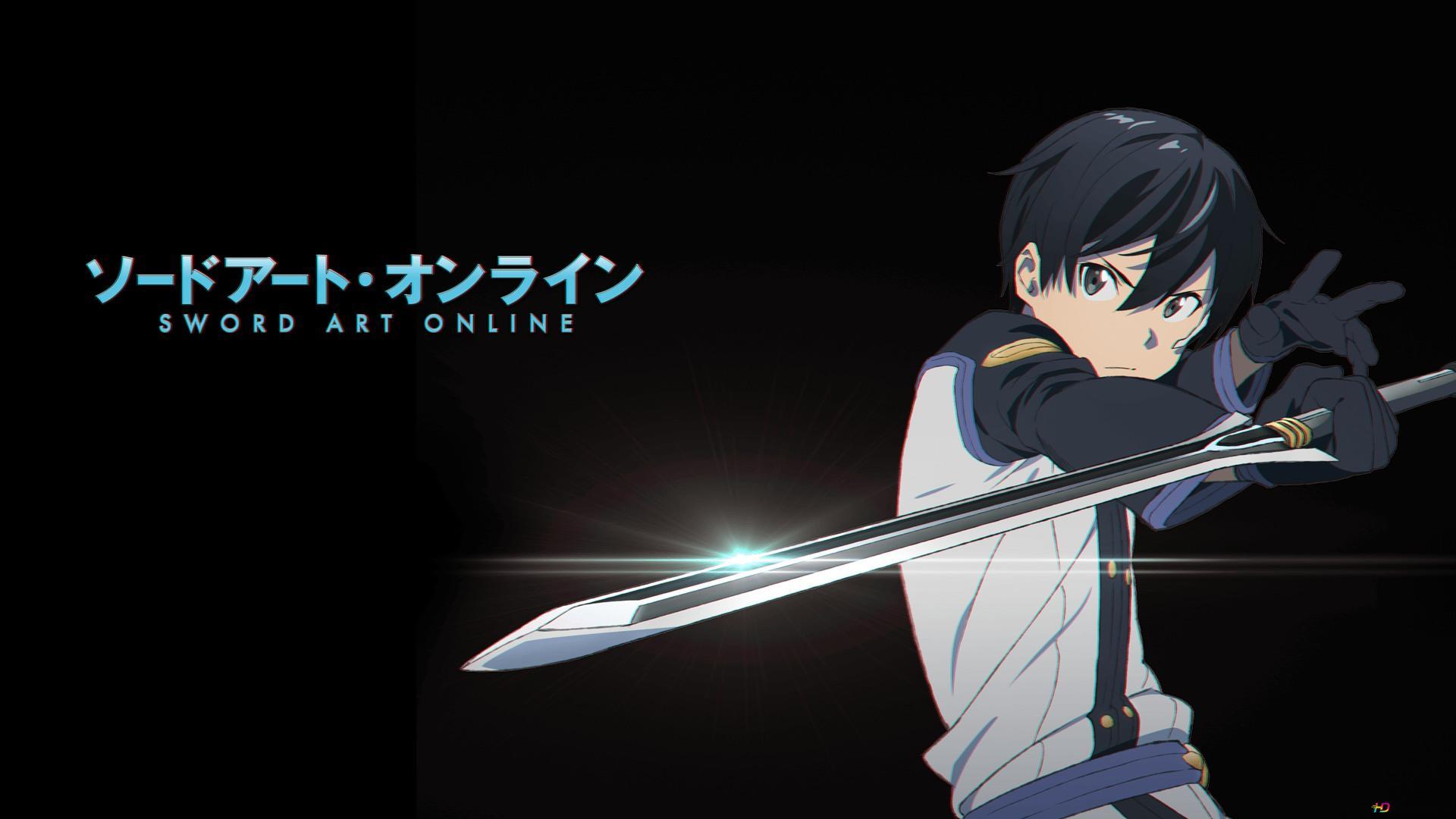 Sword Art Online Ordinal Scale Kirito Hd Wallpaper Download