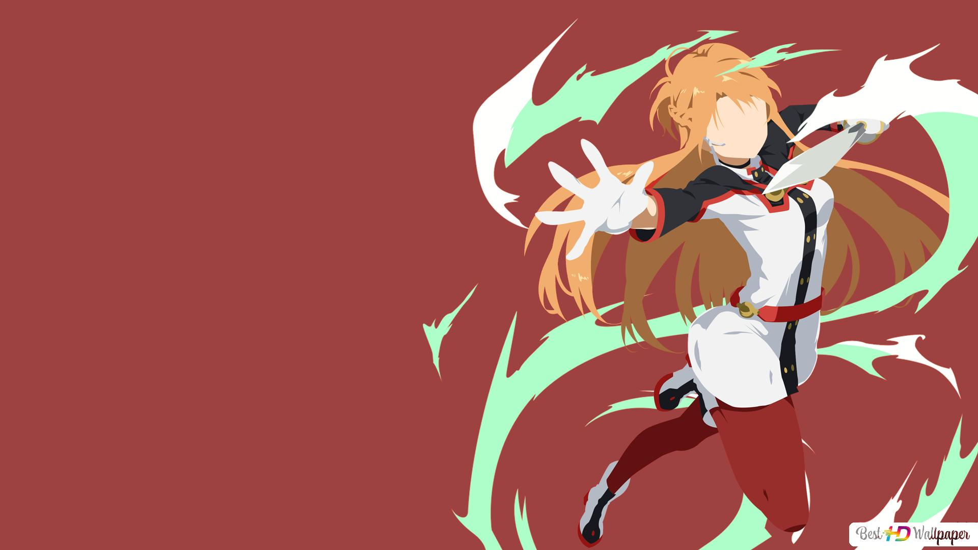 Sword Art Online Ordinal Scale Movie Asuna Yuuki Minimalist Hd