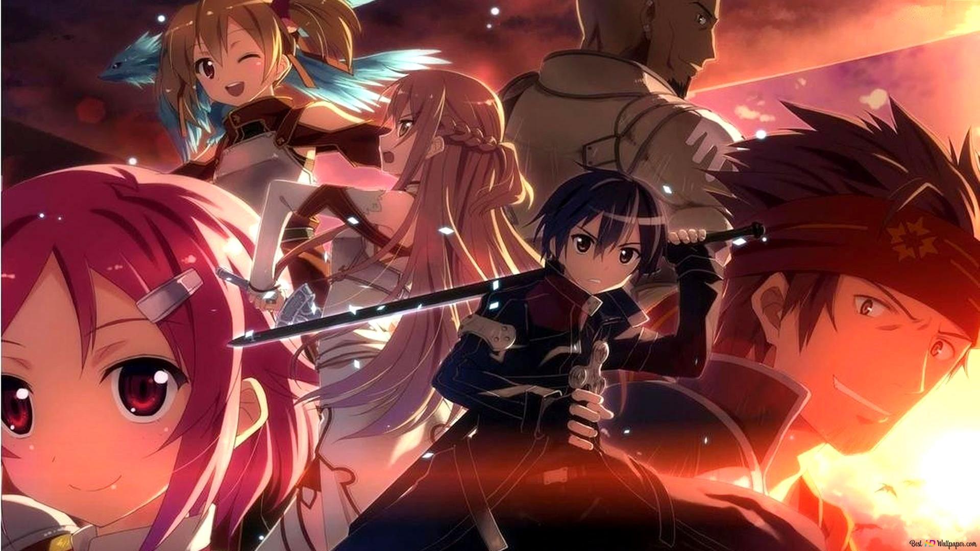 Descargar Fondo De Pantalla Sword Art Online Profesionales Hd