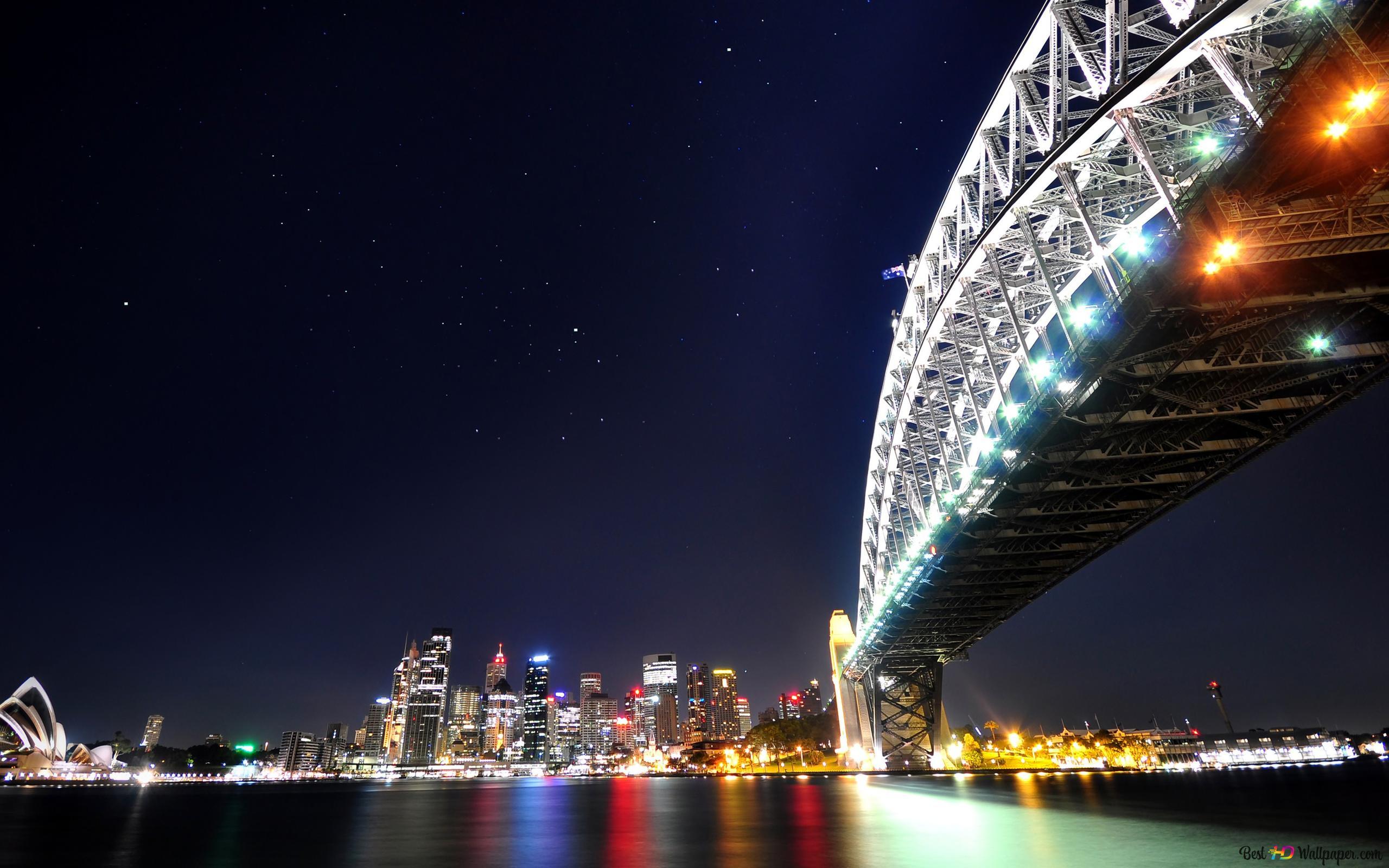 Sydney Harbour Bridge Hd Fond Décran Télécharger