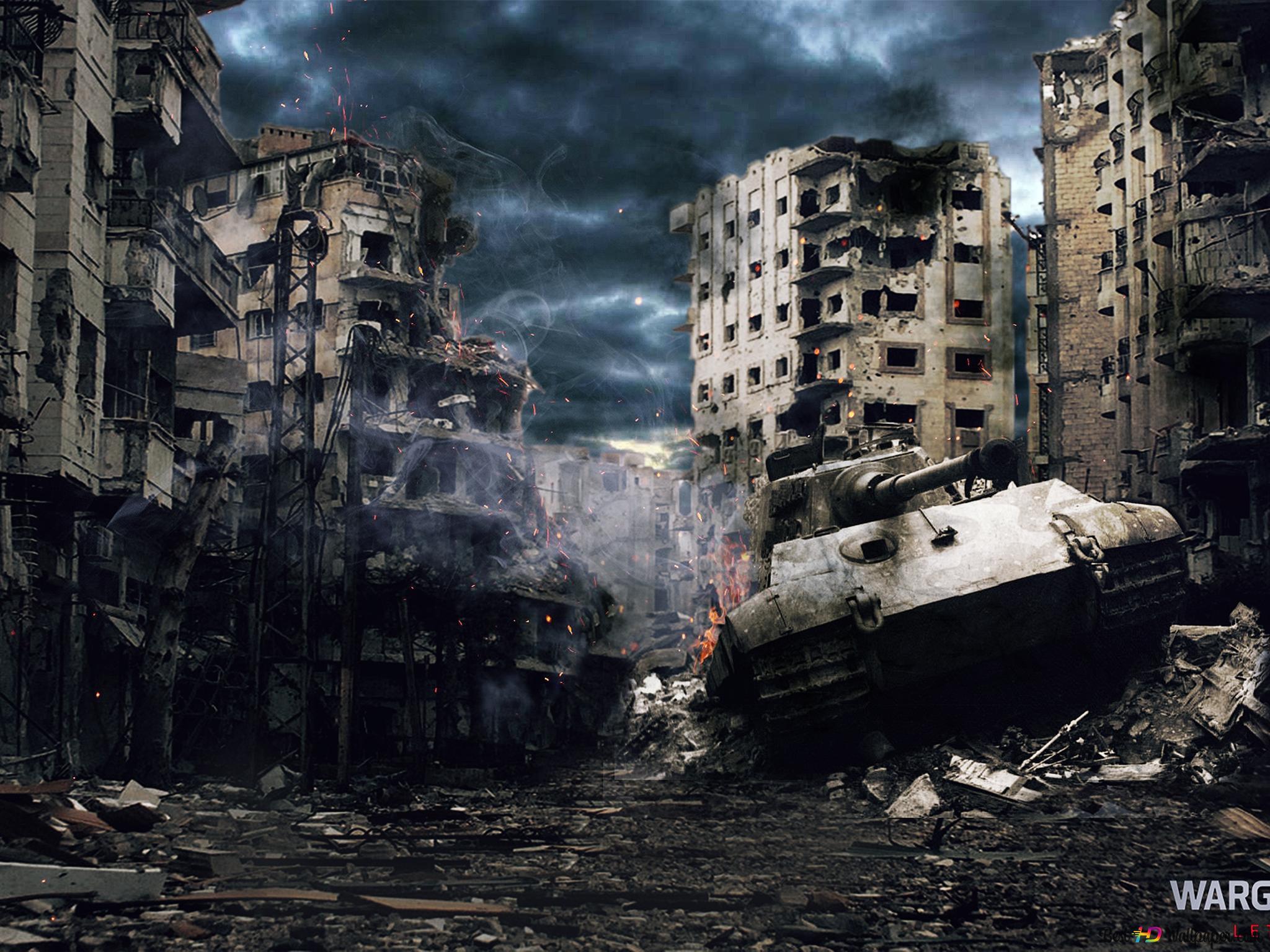 坦克戰城 世界高清壁紙下載