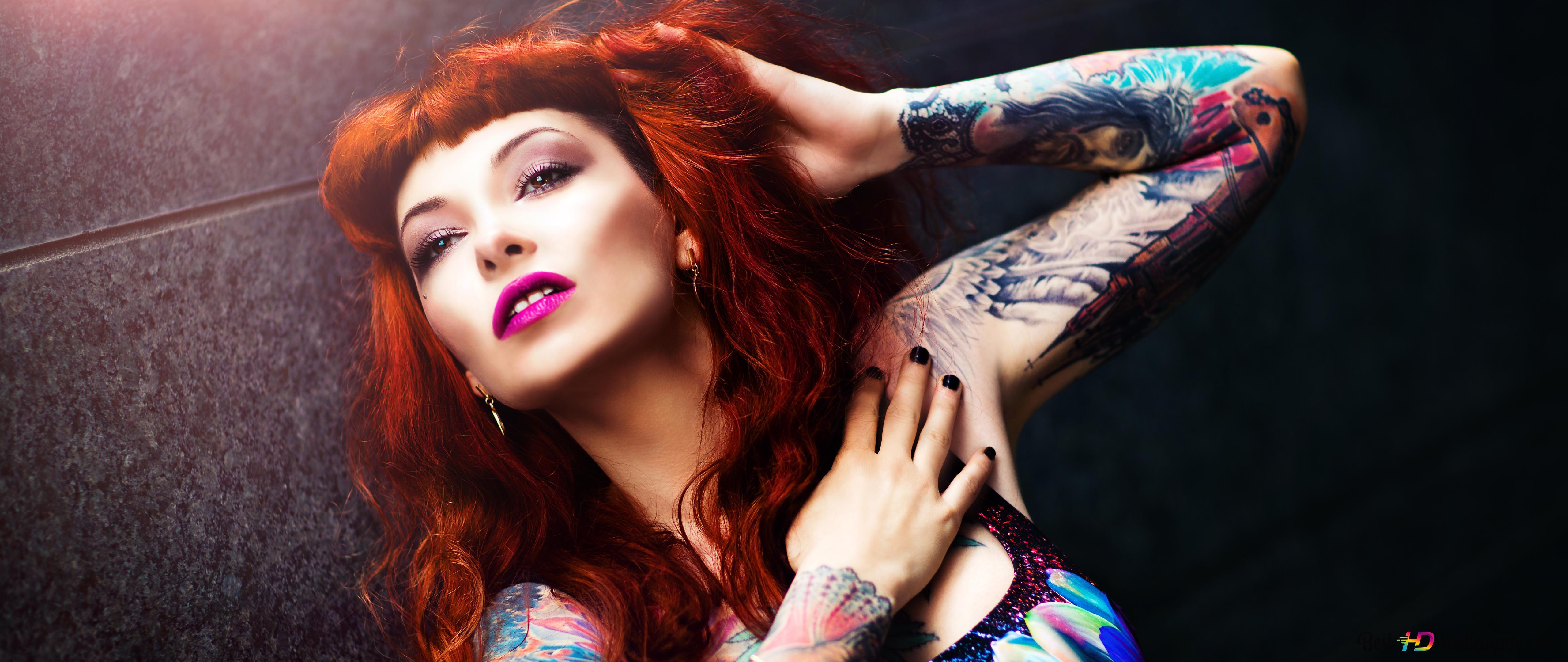 Tattoo Woman Hd Wallpaper Download