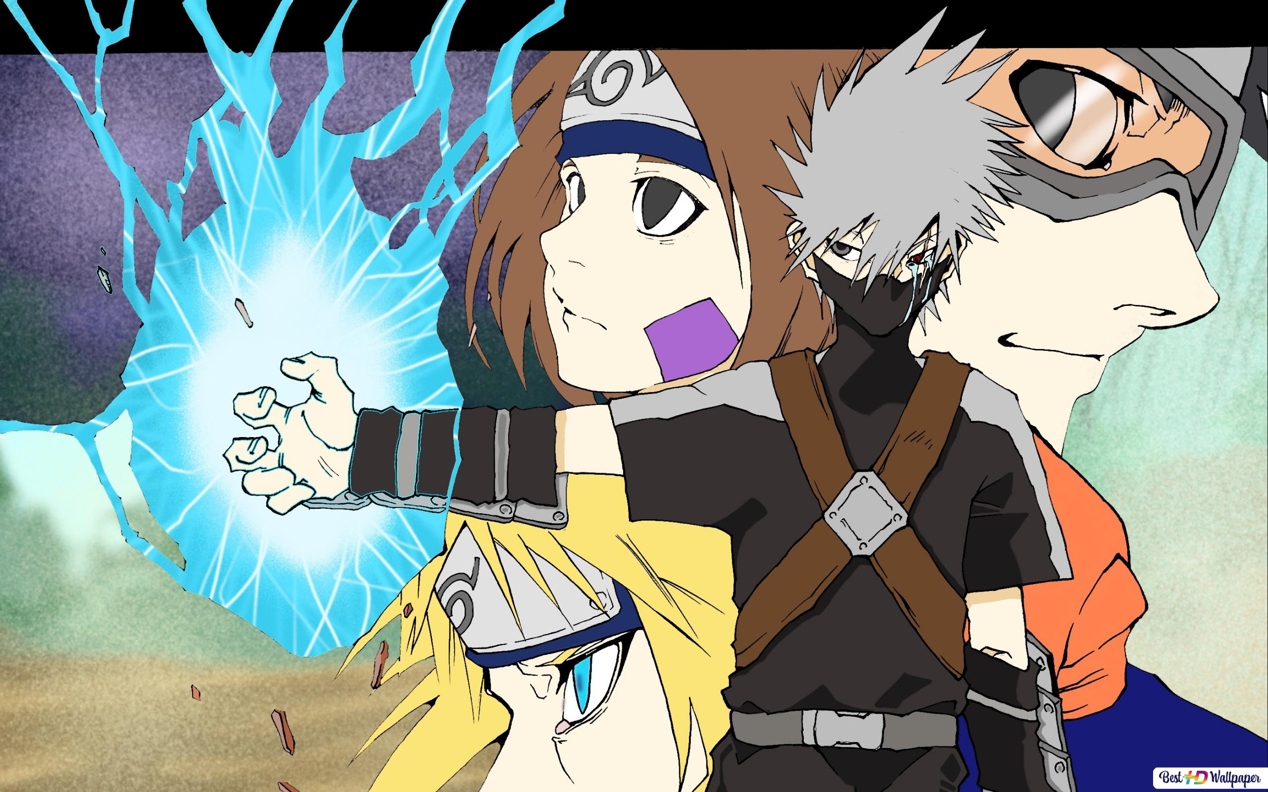 Naruto Shippuden Team 7 Wallpaper Hd 240x400