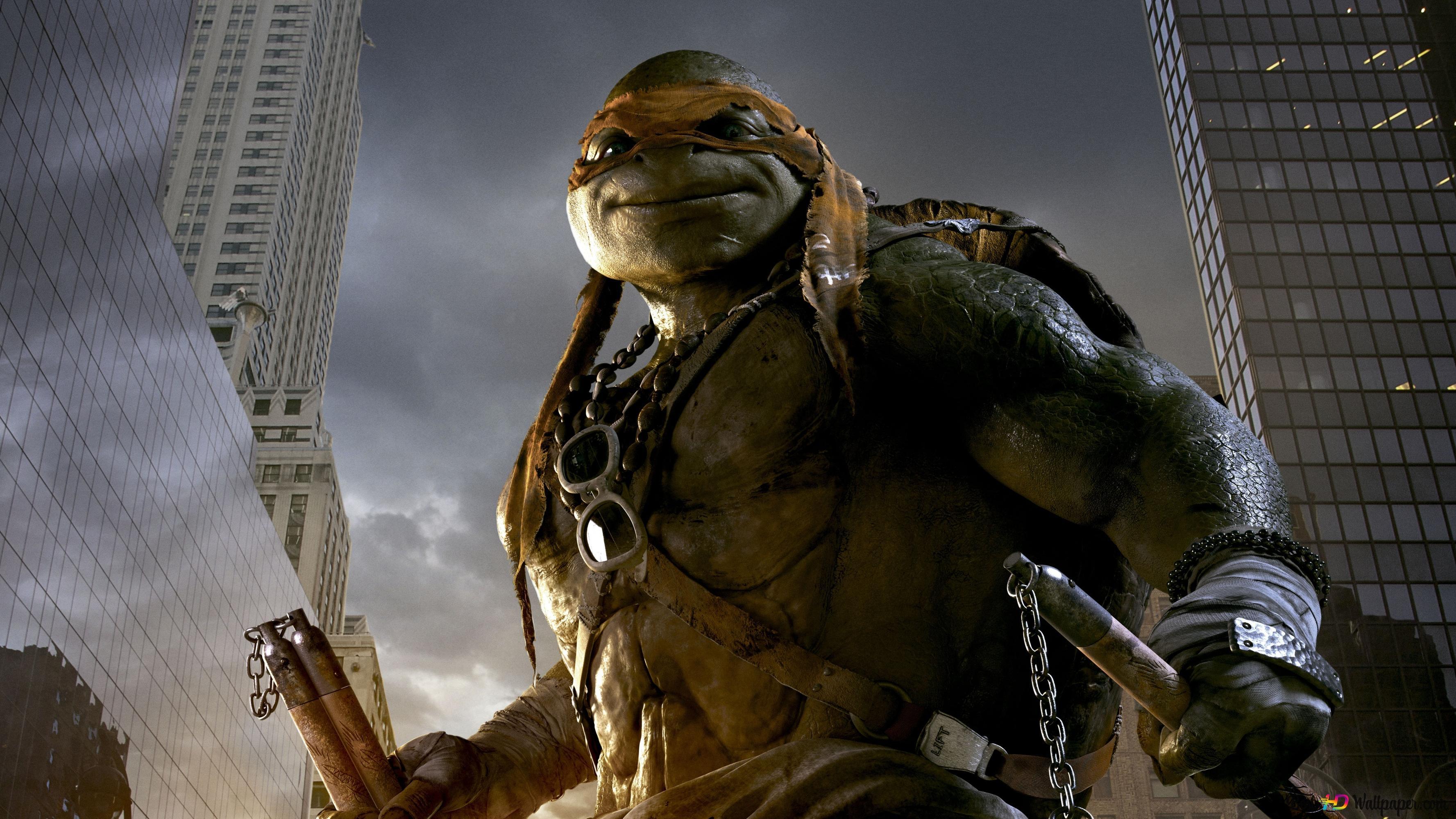 Teenage Mutant Ninja Turtles Michelangelo Hd Wallpaper Download