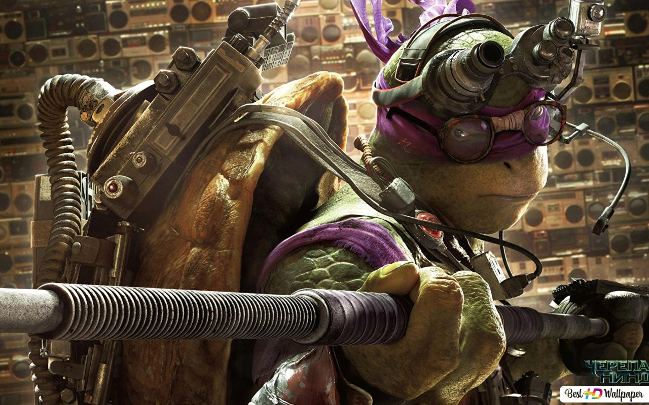 Teenage Mutant Ninja Turtles Movie Donatello Hd Wallpaper Download