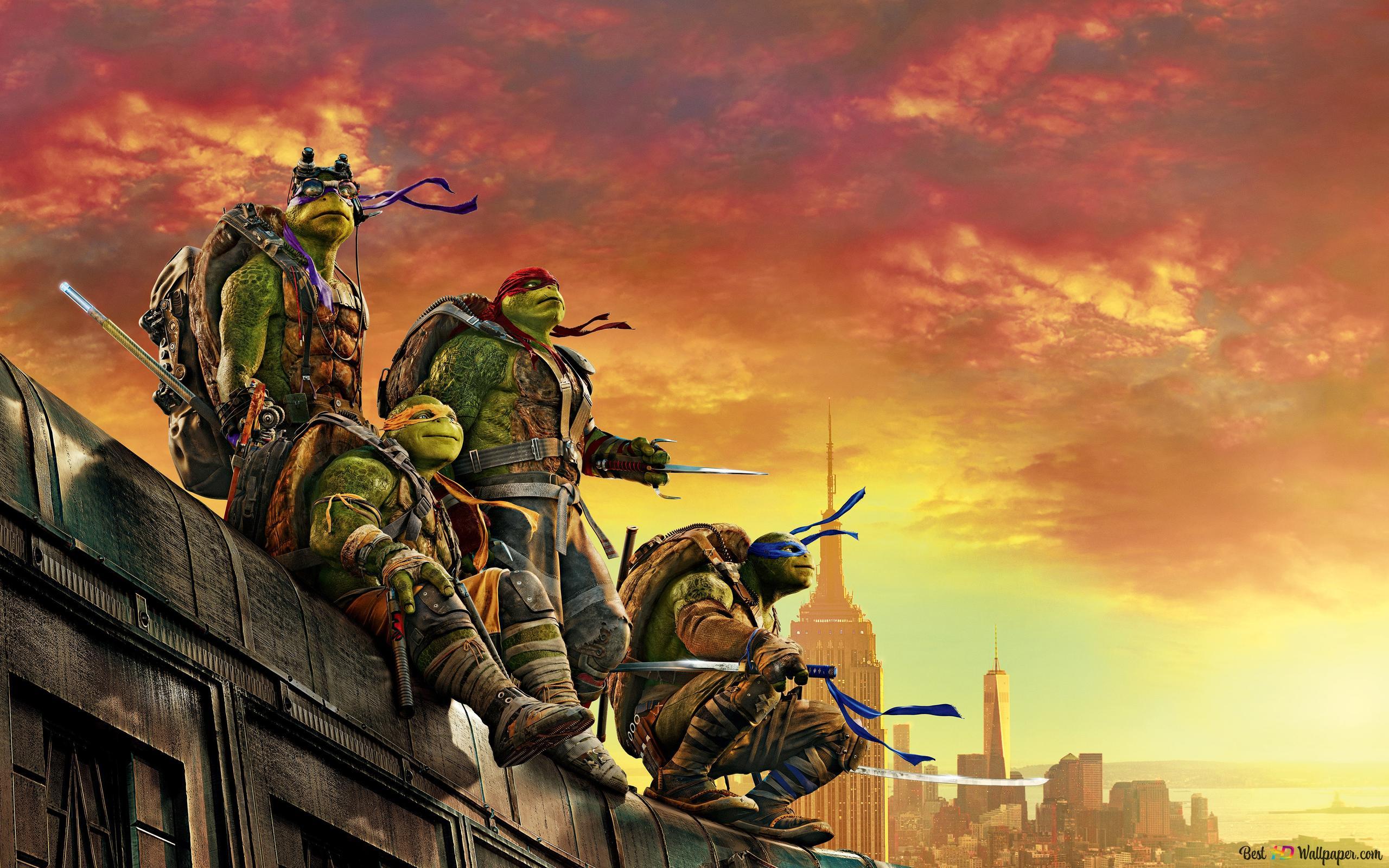 Teenage Mutant Ninja Turtles Hd Wallpaper Download