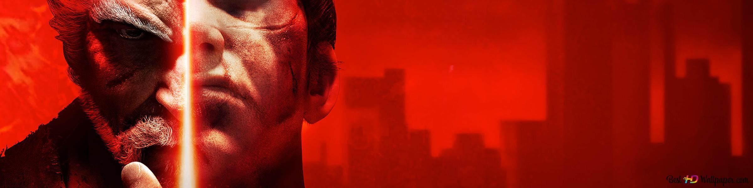 Tekken 7 Heihachi Mishima Vs Kazuya Mishima Hd Wallpaper Download