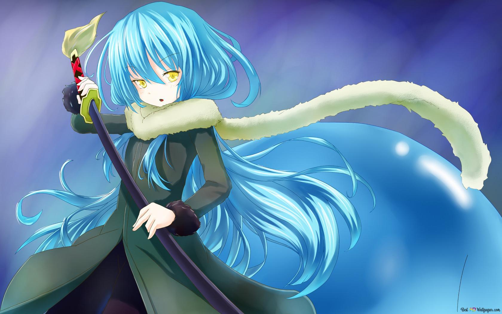 That Time I Got Reincarnated As A Slime Rimuru Tempest Slime Hd