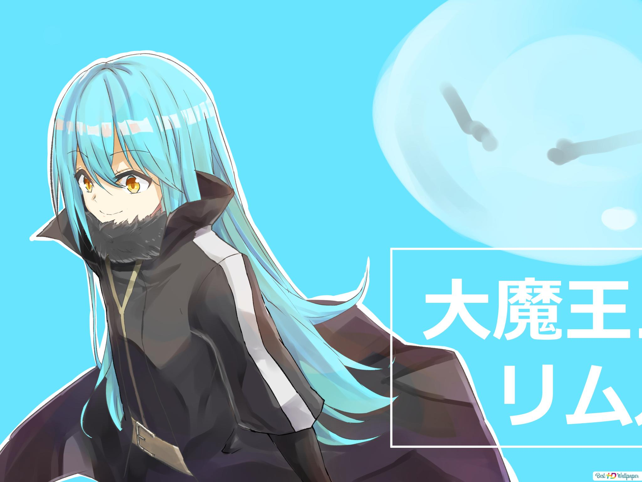 That Time I Got Reincarnated As A Slime Rimuru Tempest Hd