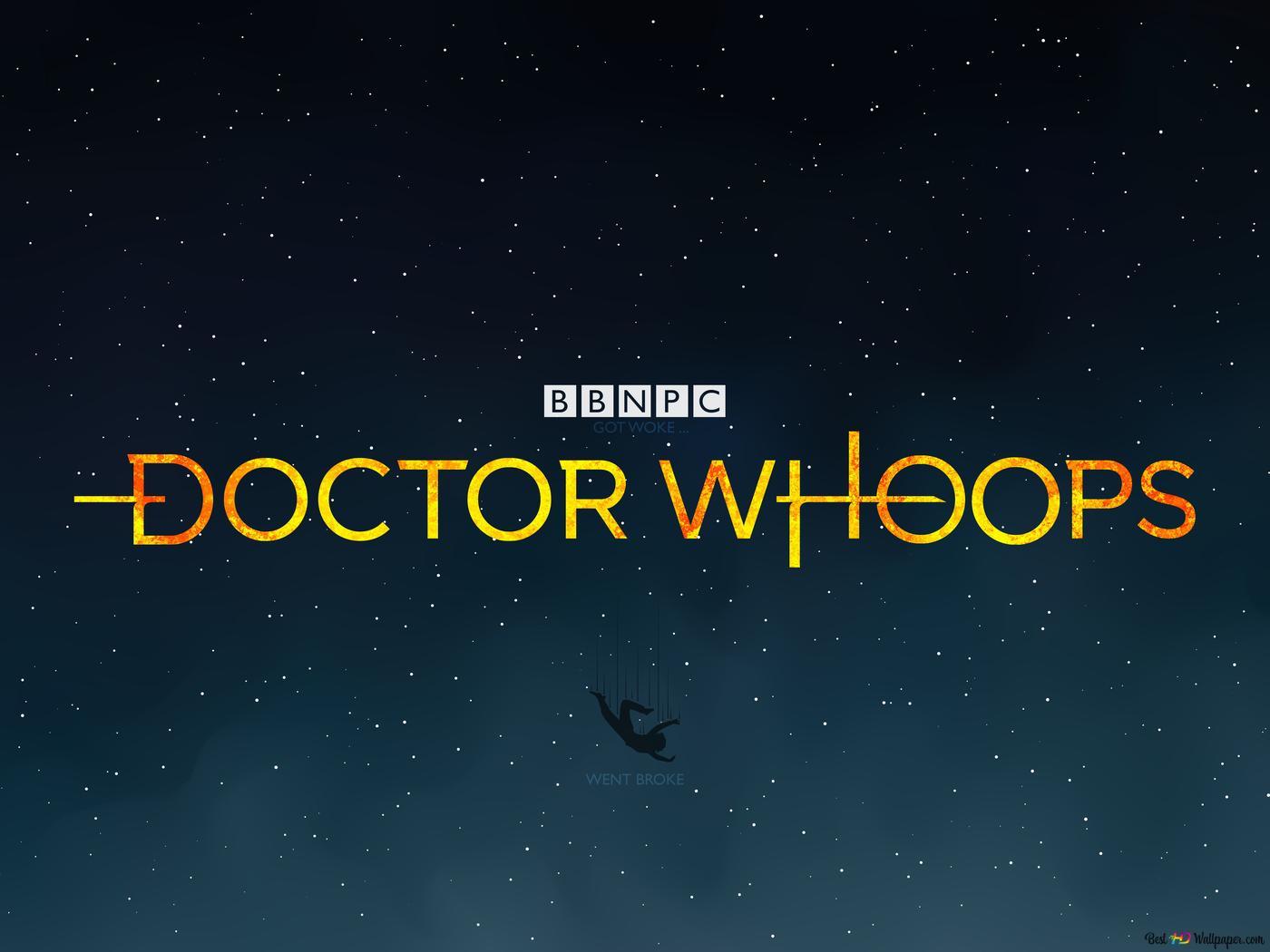 The 8k dr. Who got broke for being a bbc woke bloke hd wallpaper.