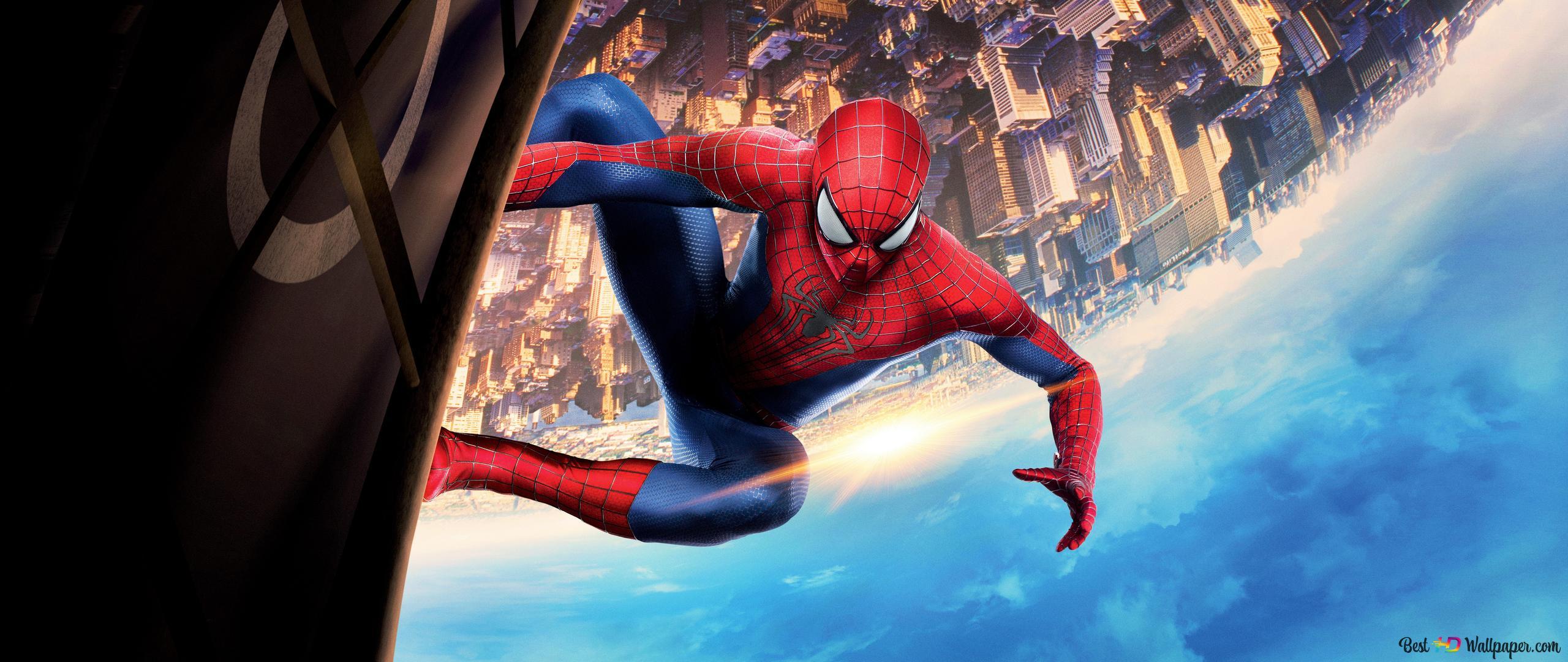 Nolan Batman vs Webb Spider-Man The-amazing-spider-man-2-wallpaper-2560x1080-26681_14