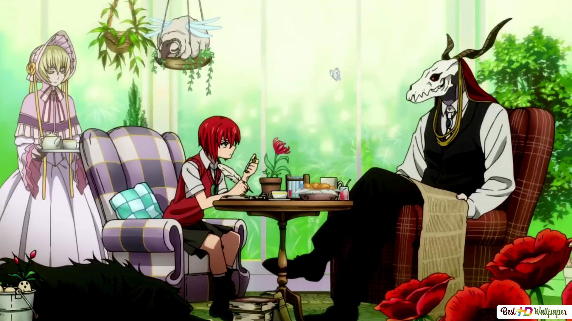 The Ancient Magus Bride Chise Hatori Elias Ainsworth Silver Lady