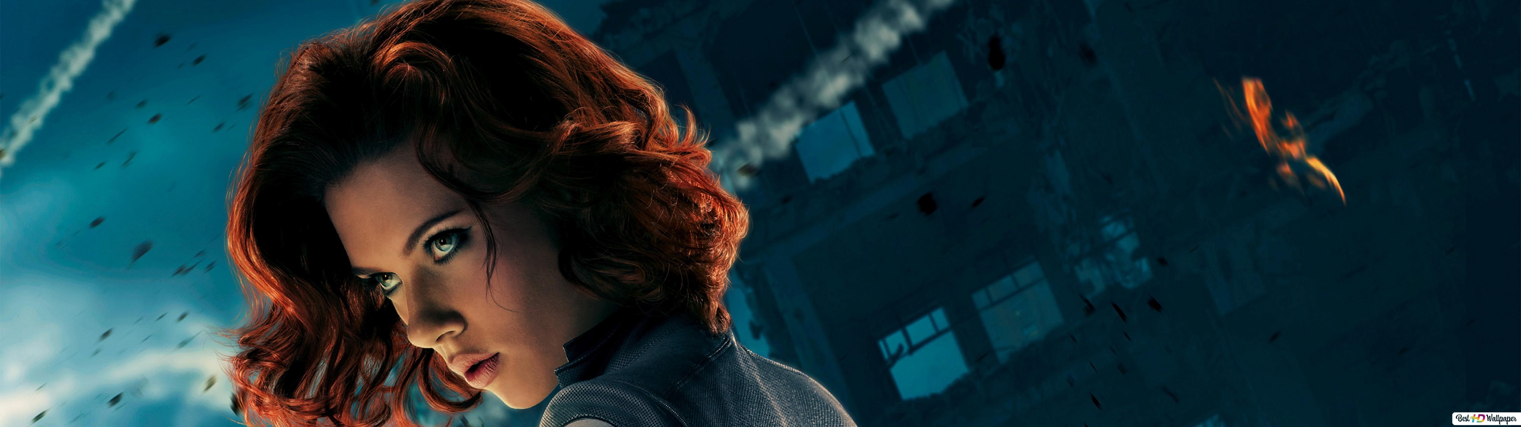 The Black Widow Of The Avengers Hd Wallpaper Download