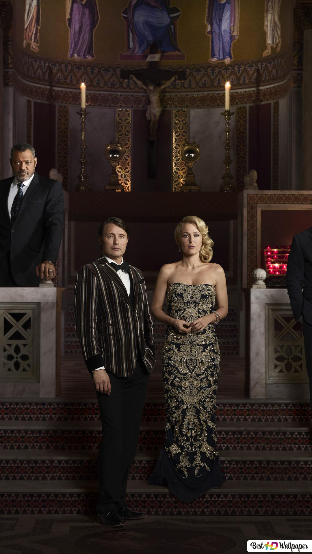 The Cast of Hannibal HD wallpaper download