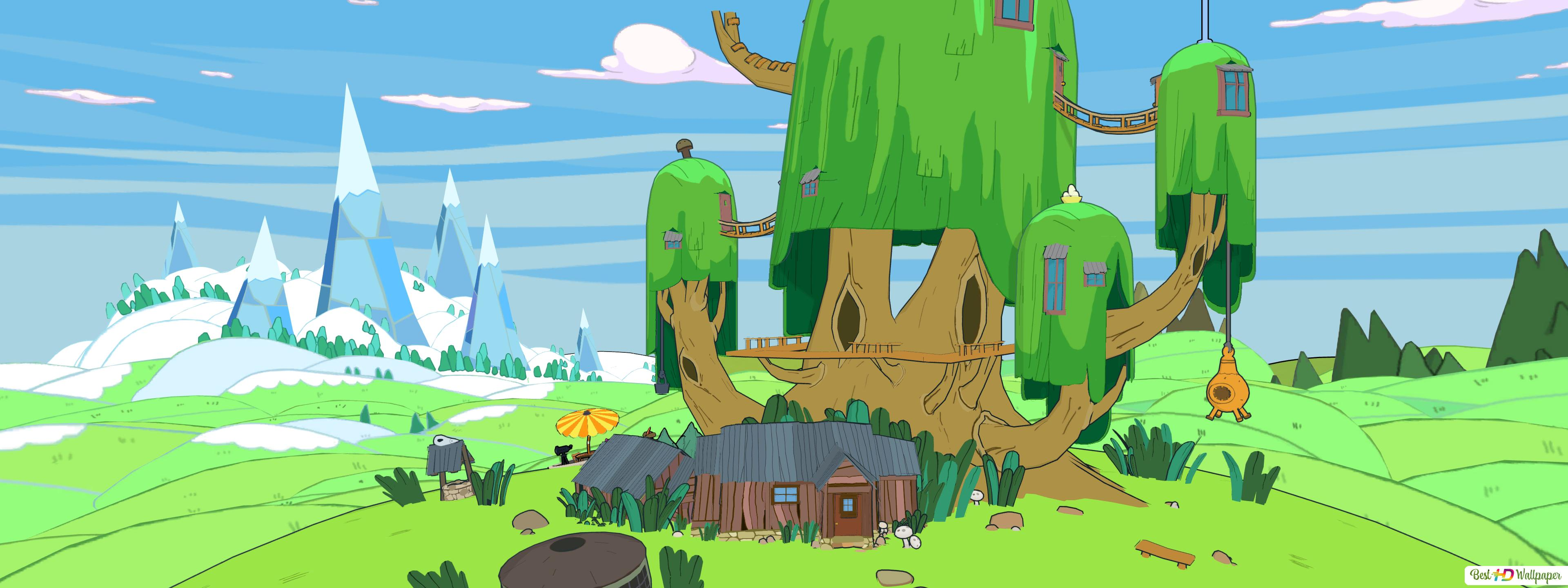 The Castle Tree In Adventure Time Pirates Of The Enchiridion Hd