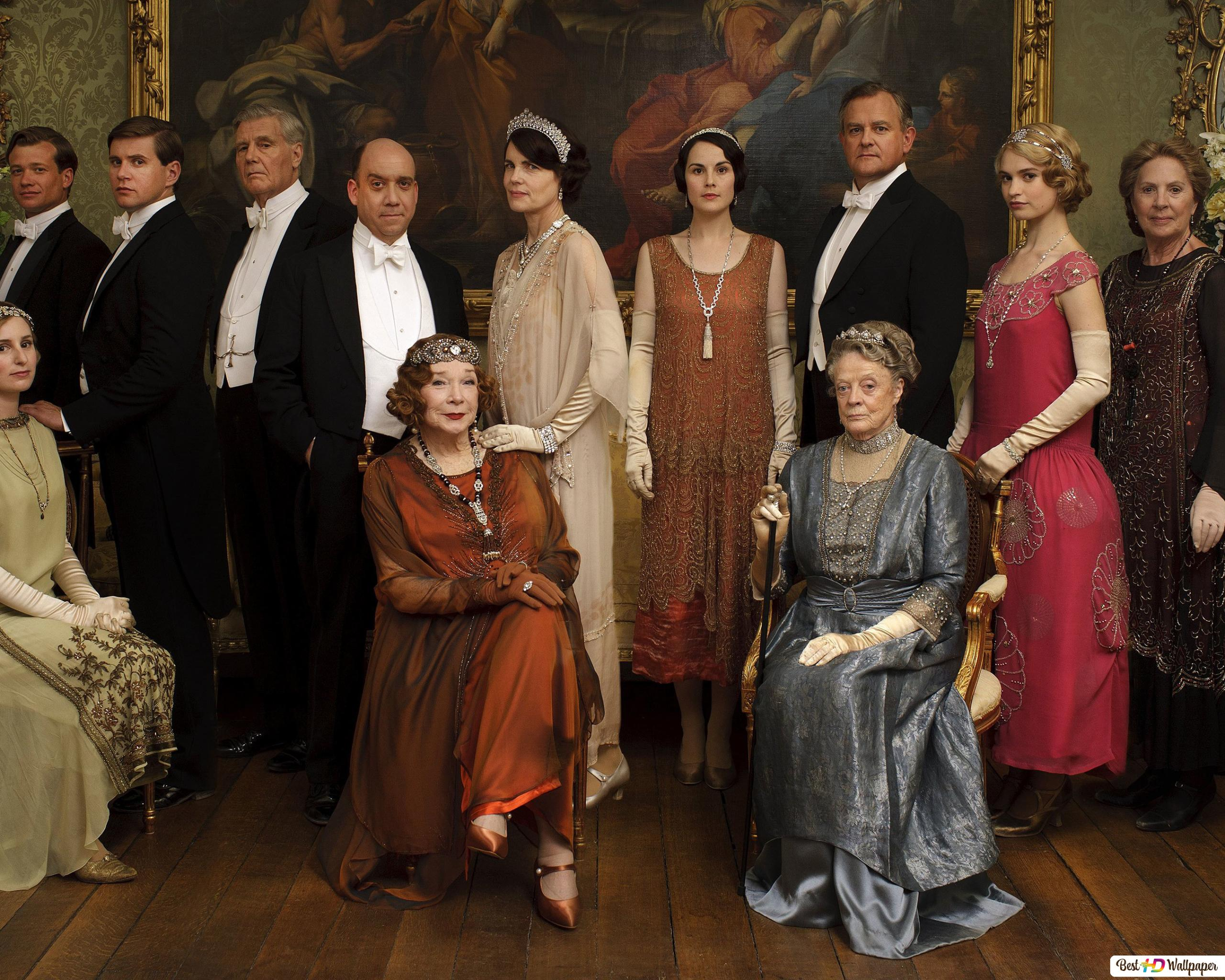 The Elder S Of Downton Abbey Hd Wallpaper Download