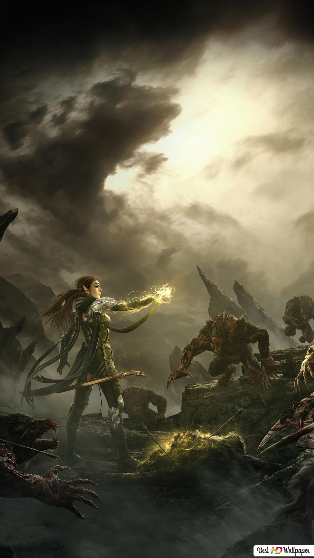 The Elder Scrolls Online Game Warriors Hd Wallpaper Download