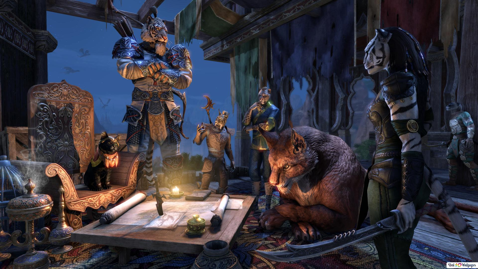 The Elder Scrolls Online Hd Wallpaper Download