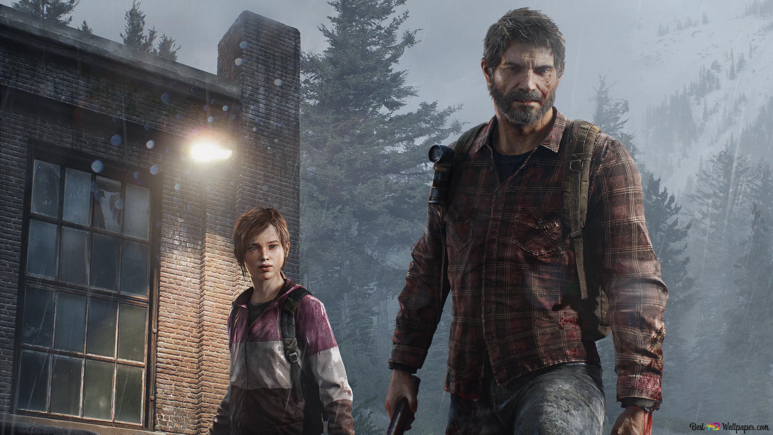 The Last Of Us Ellie And Joel Hd Wallpaper Download