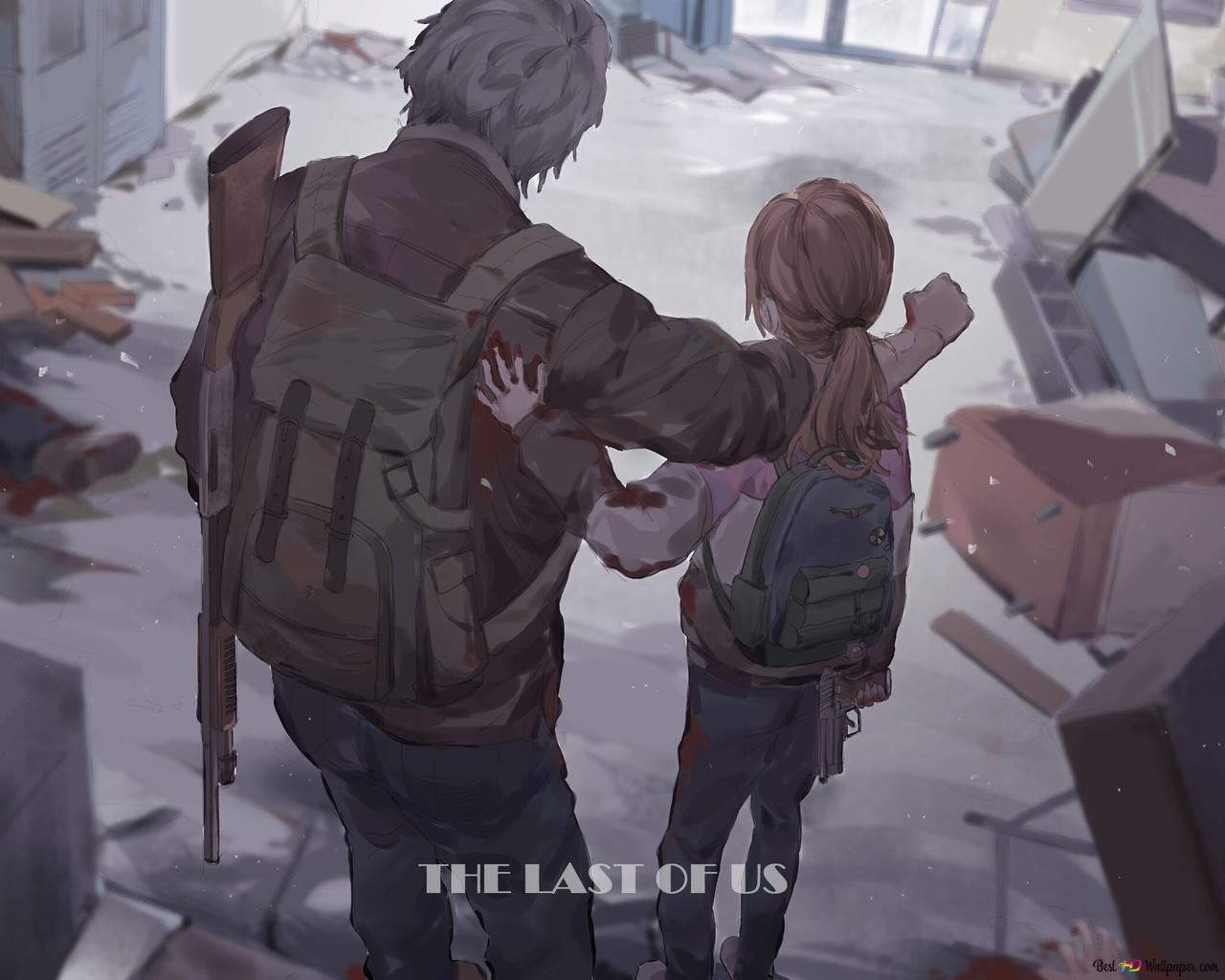 The Last Of Us Ellie Joel Hd Wallpaper Download