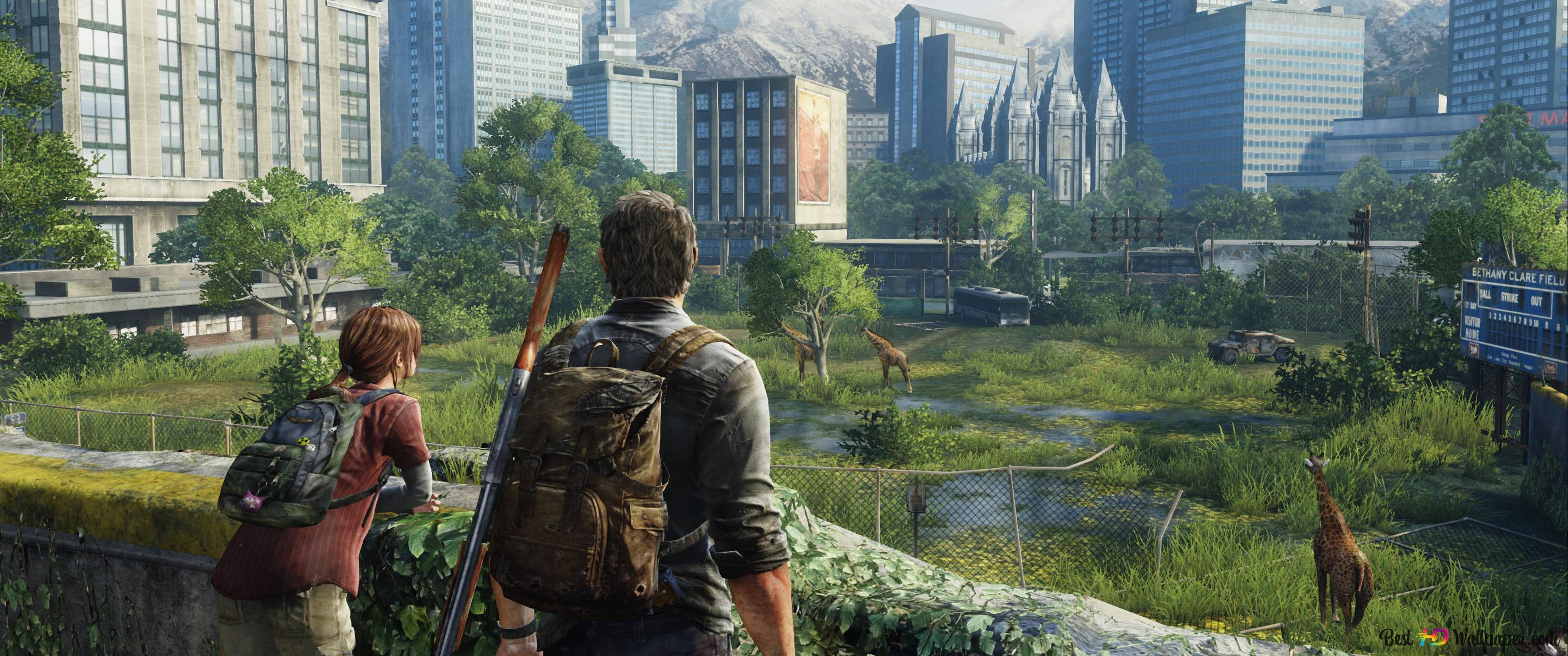 The Last Of Us Joel Ellie Hd Wallpaper Download