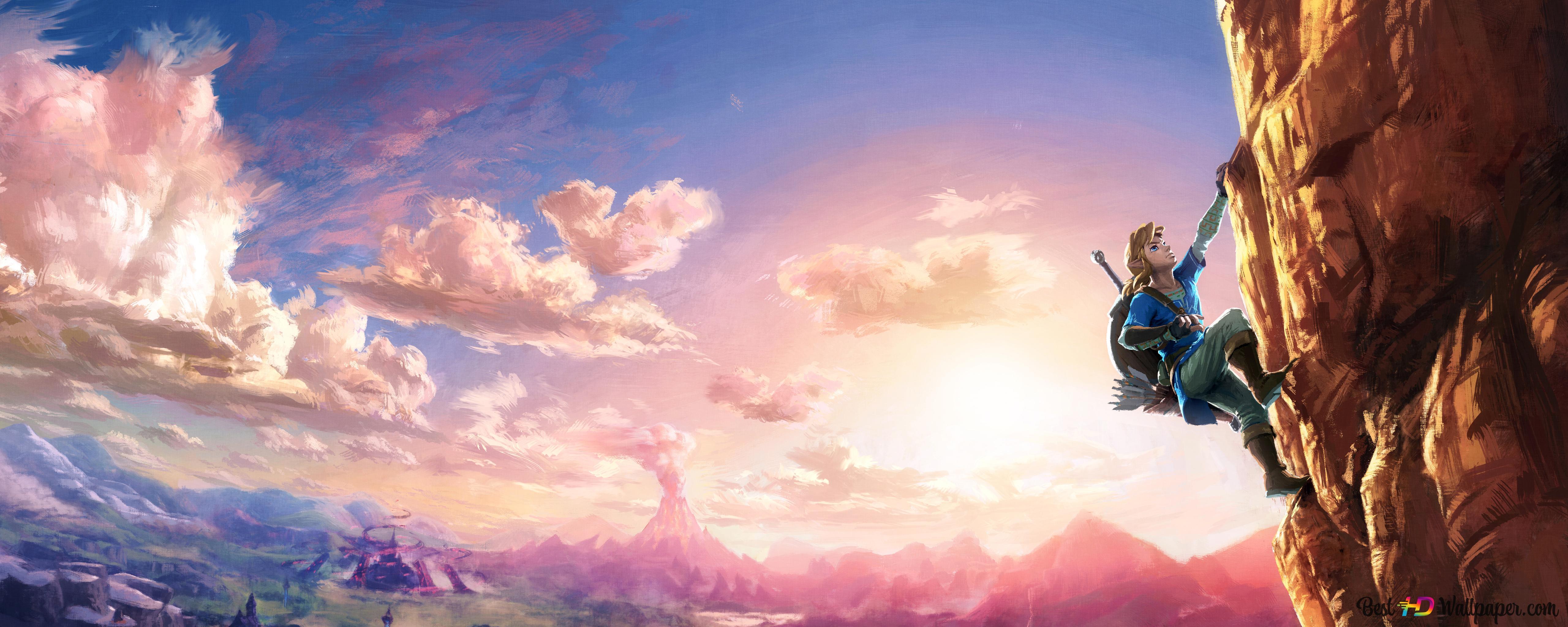 The Legend Of Zelda Breath Of The Wild Digital Art Hd Wallpaper