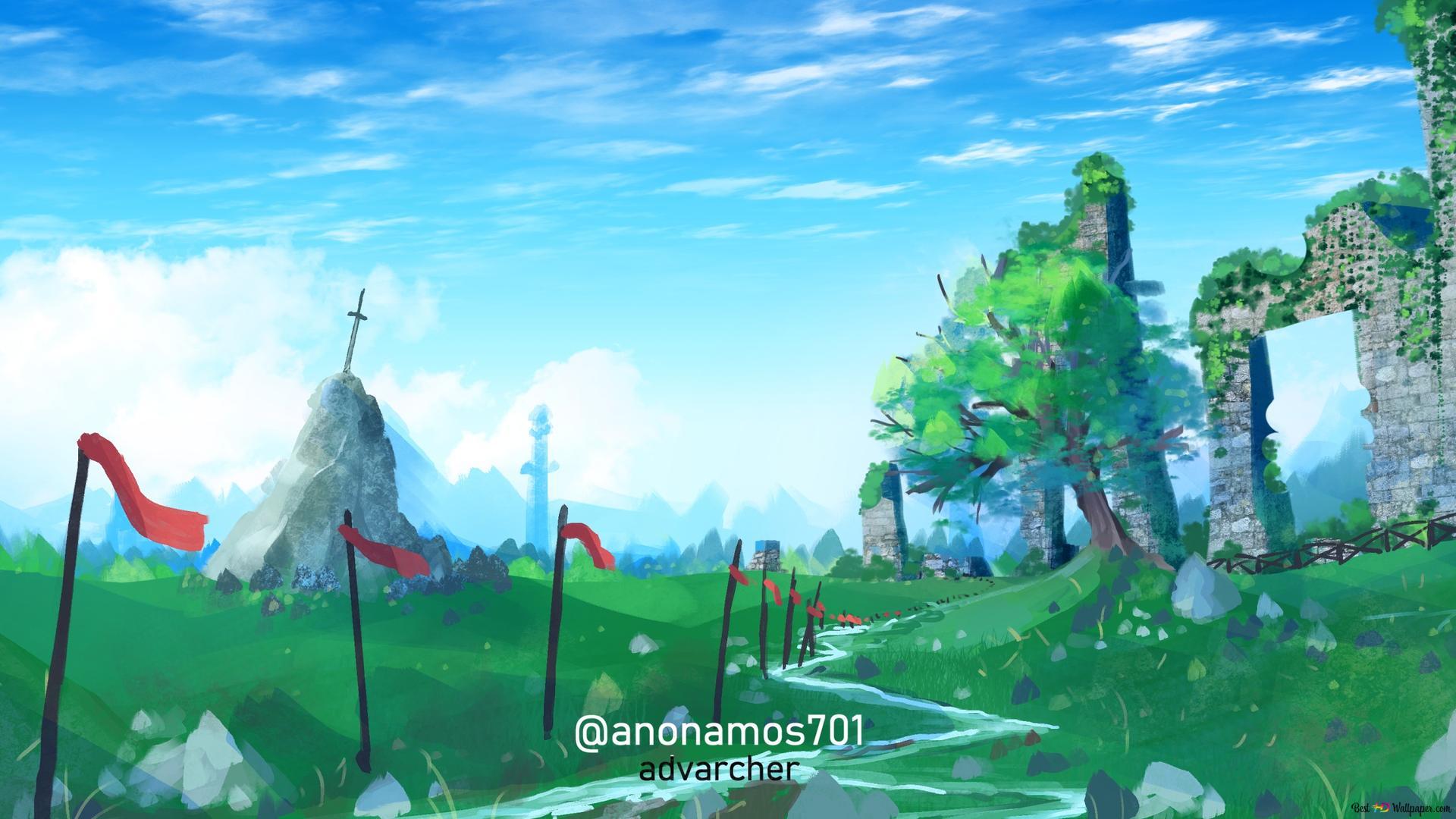 The Legend Of Zelda Breath Of The Wild Highlands Hd Wallpaper