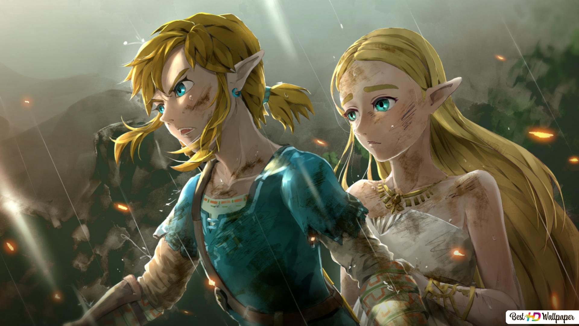 The Legend Of Zelda Breath Of The Wild Link Zelda Hd Wallpaper