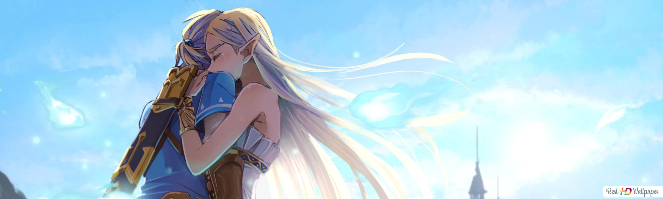 The Legend Of Zelda Breath Of The Wild Romantic Love Hd