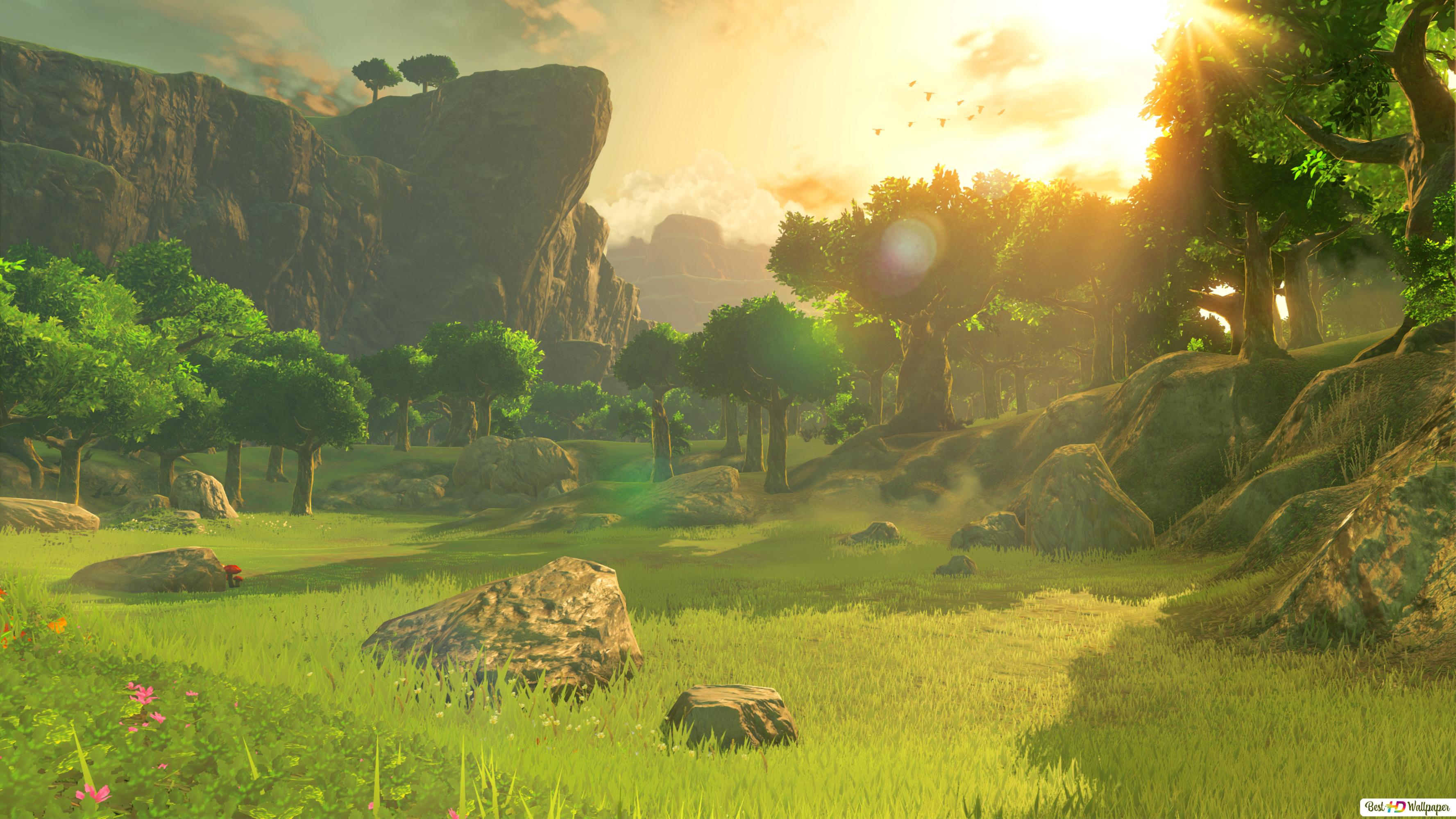 The Legend Of Zelda Breath Of The Wild Hd Wallpaper Download