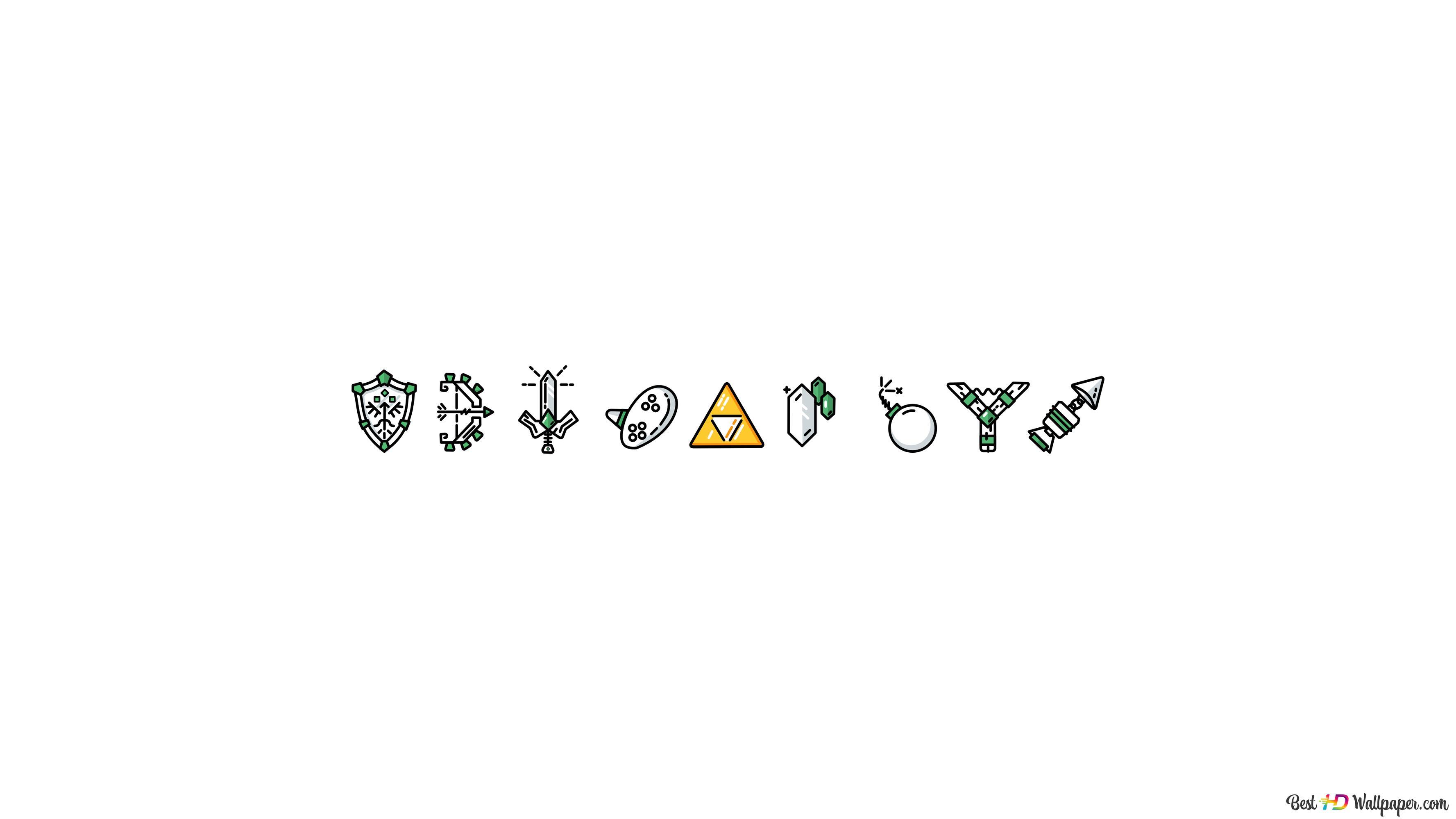 The Legend Of Zelda Minimal Hd Wallpaper Download