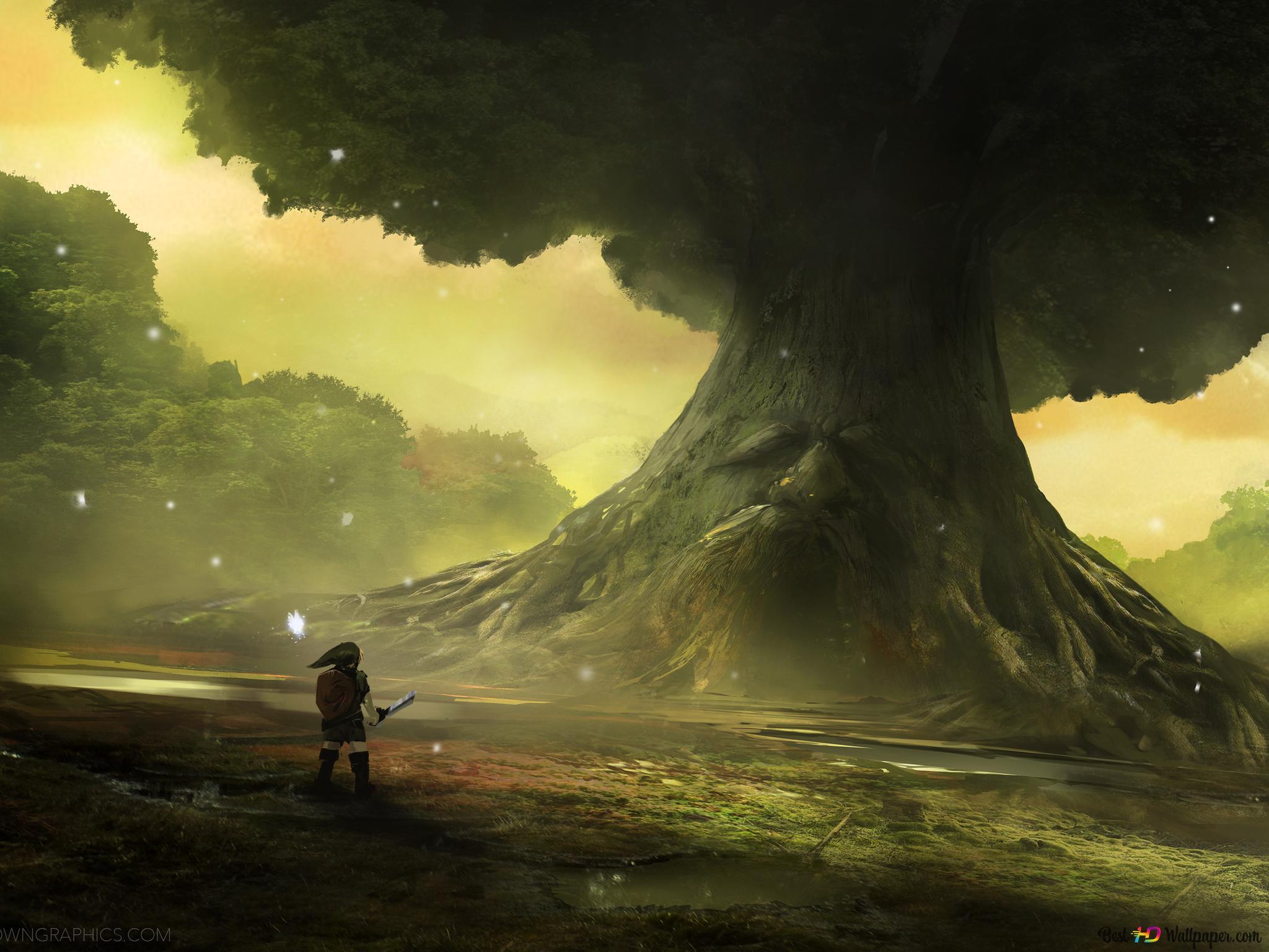 The Legend Of Zelda Ocarina Of Time Hd Wallpaper Download