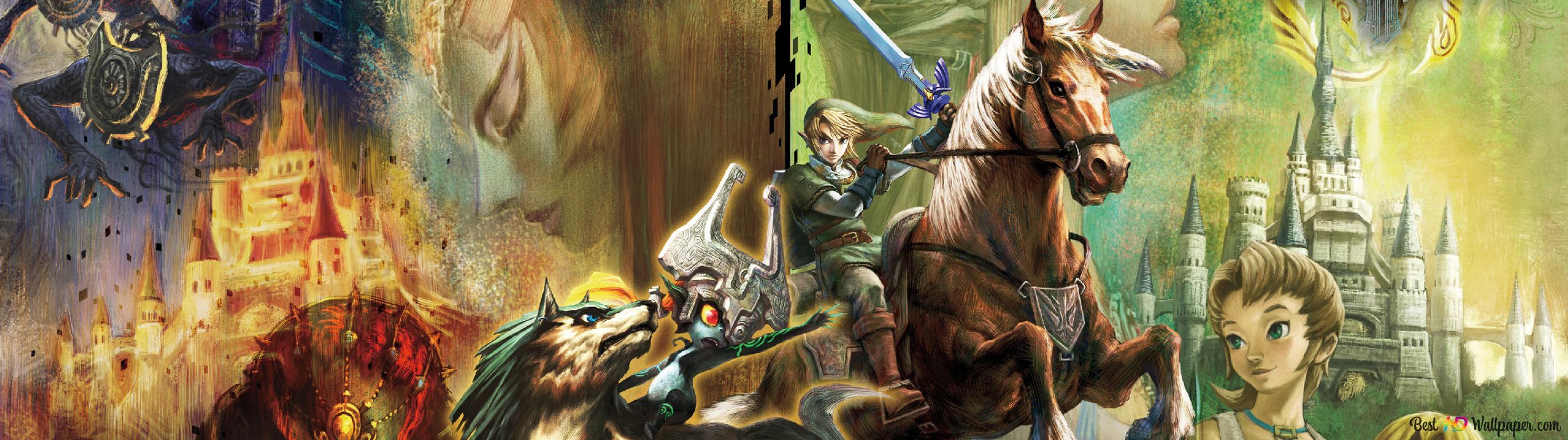 The Legend Of Zelda Twilight Princess Hd Wallpaper Download