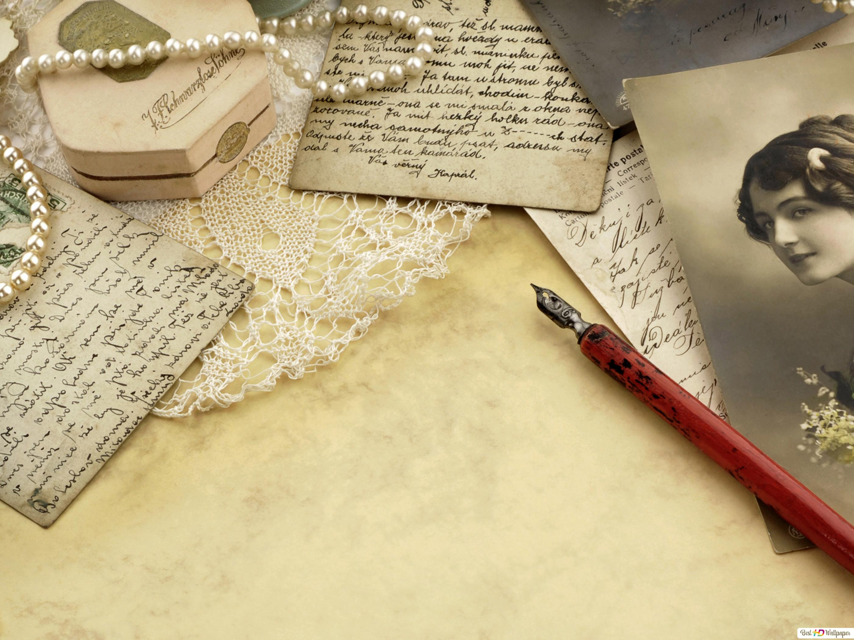 The Letter Of Timeless Love Hd Wallpaper Download