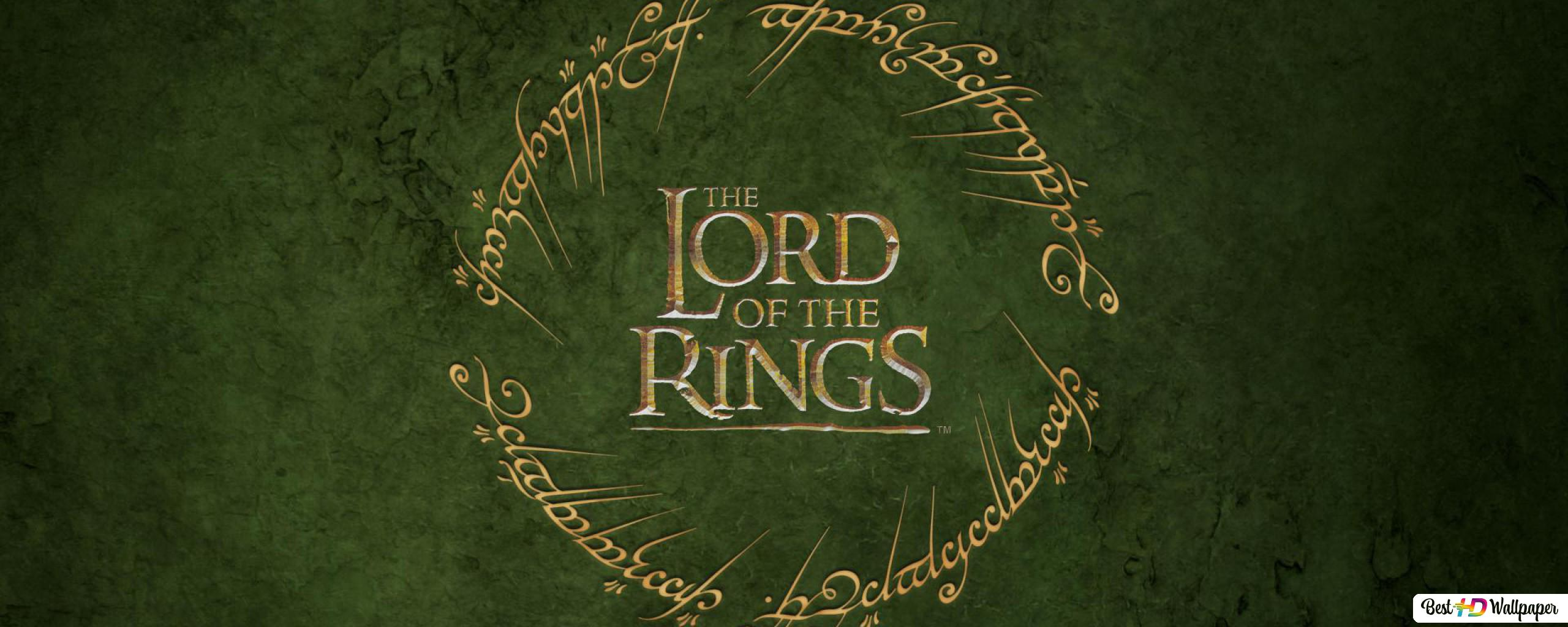 The Lord Of The Rings Movie Logo Hd Wallpaper Download