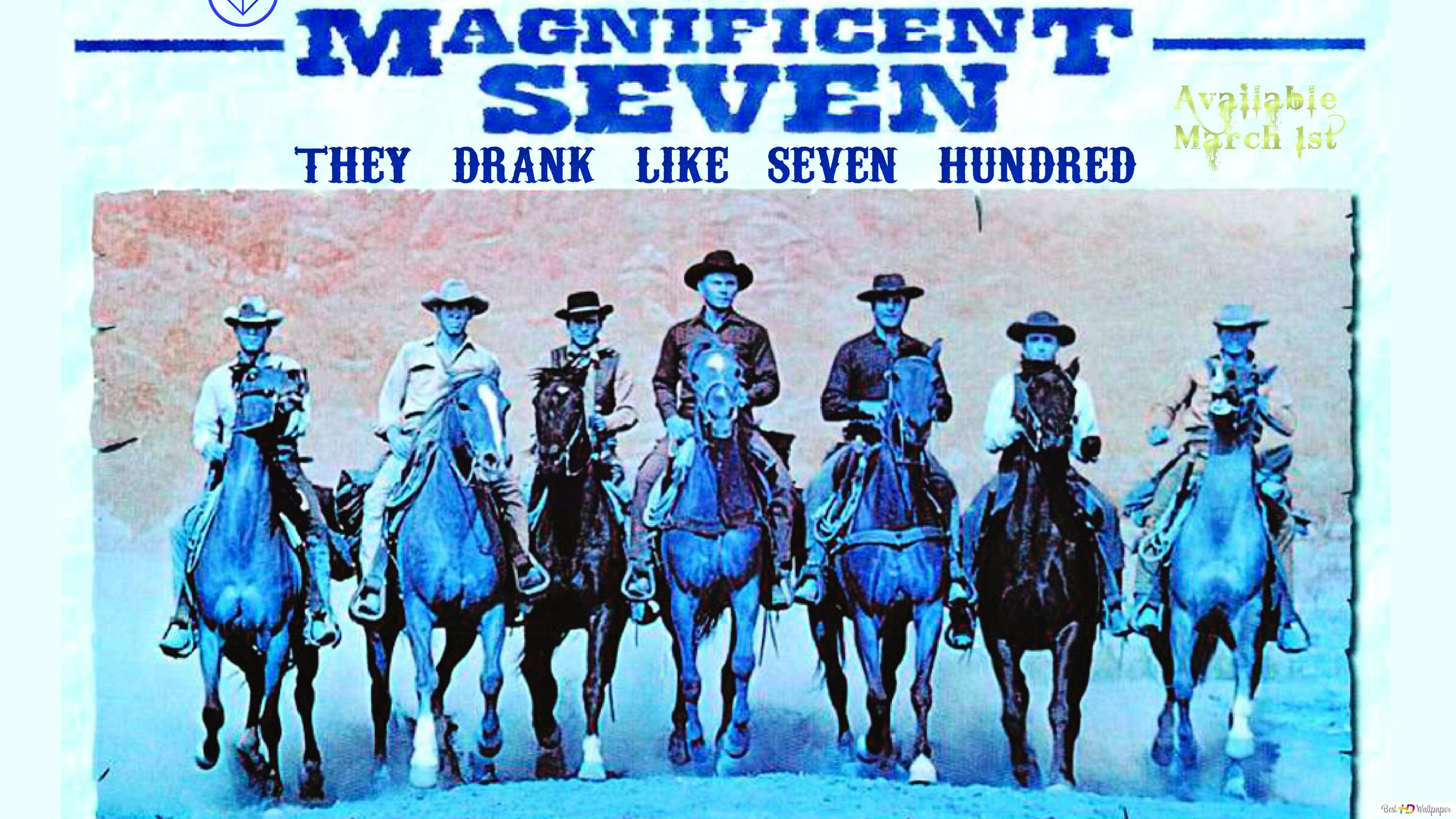 The Magnificent Seven Hd Wallpaper Download