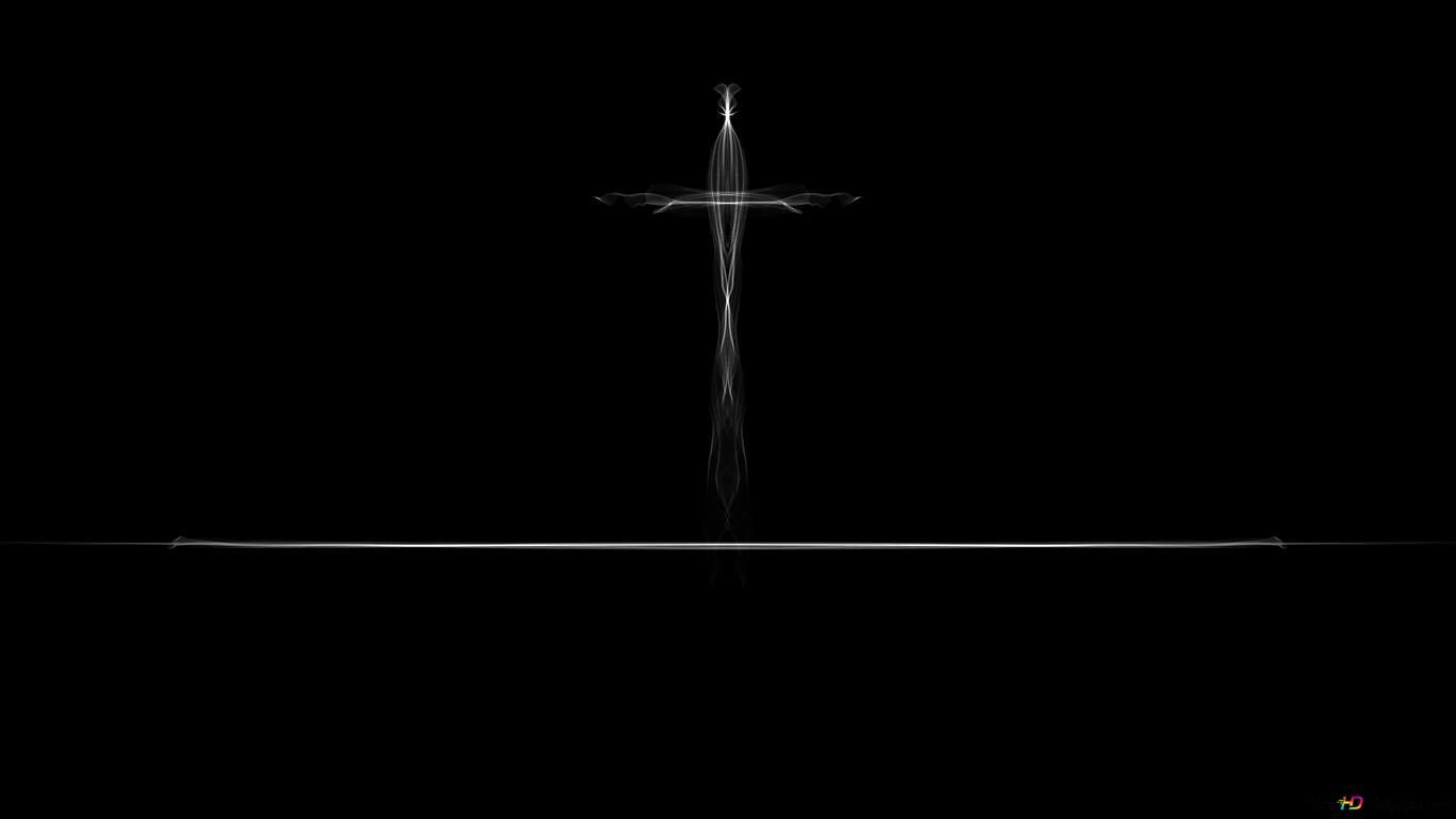 The Minimal Crucifix Hd Wallpaper Download