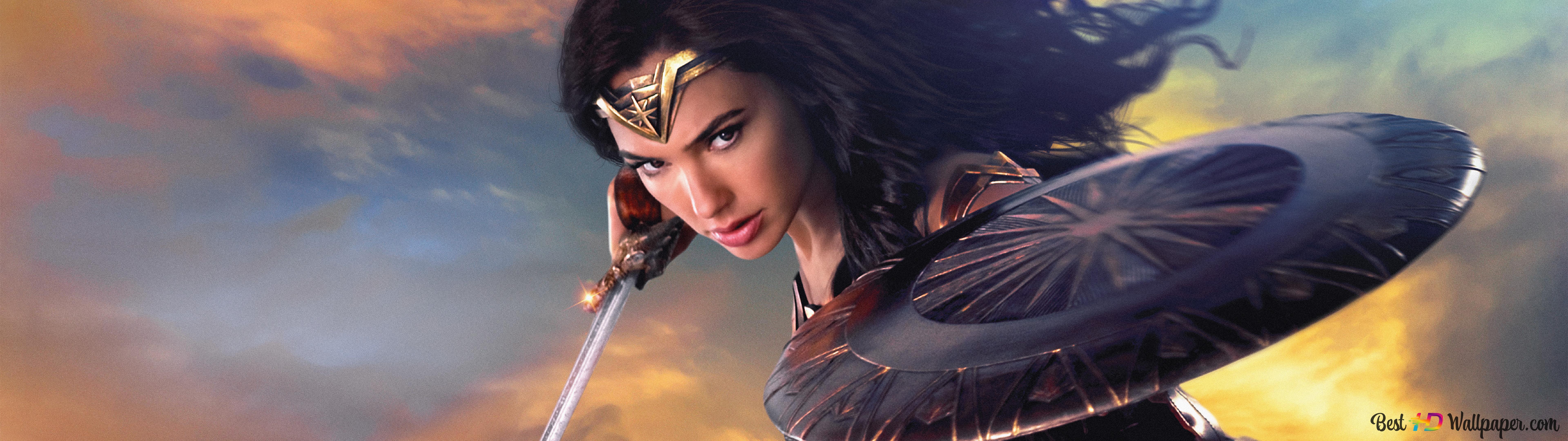 The Most Beautiful Wonder Woman Hd Wallpaper Download
